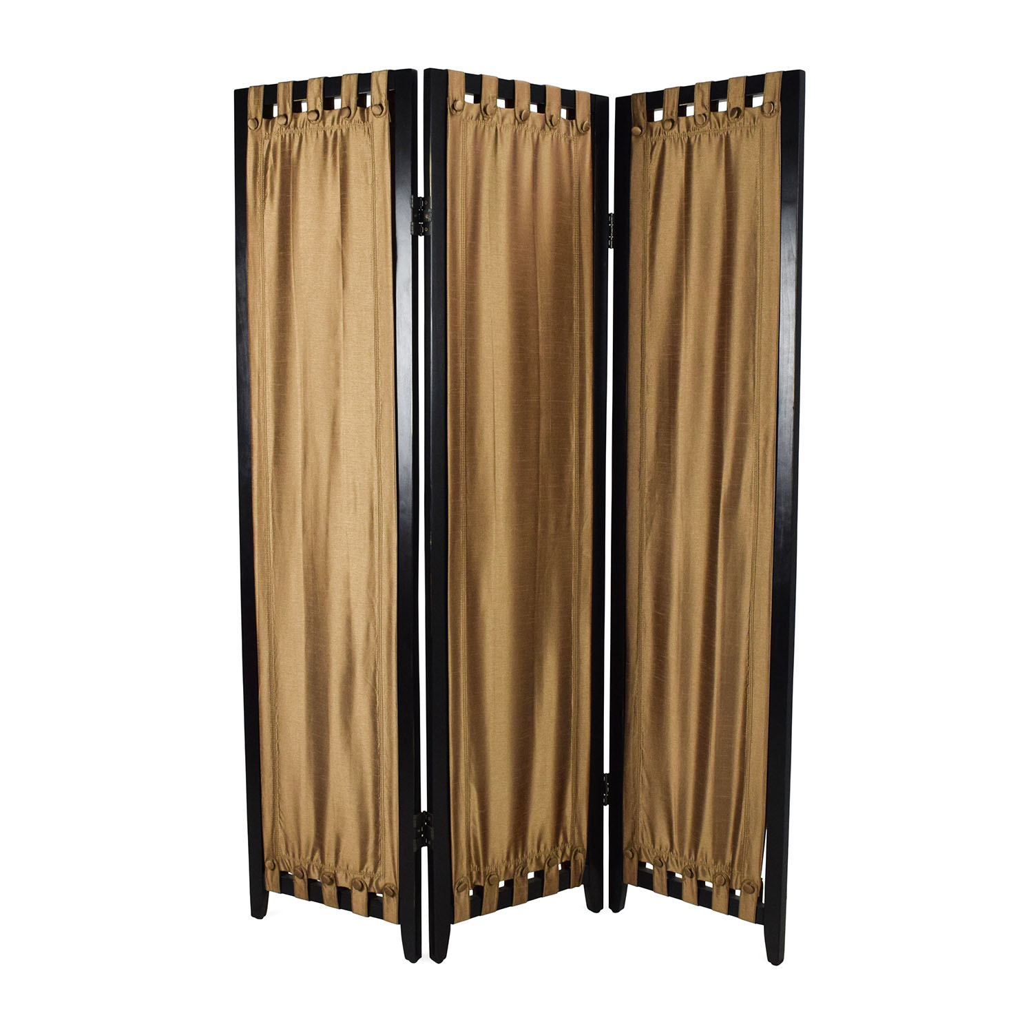 Pier 1 Tabique Gold Room Divider / Dividers