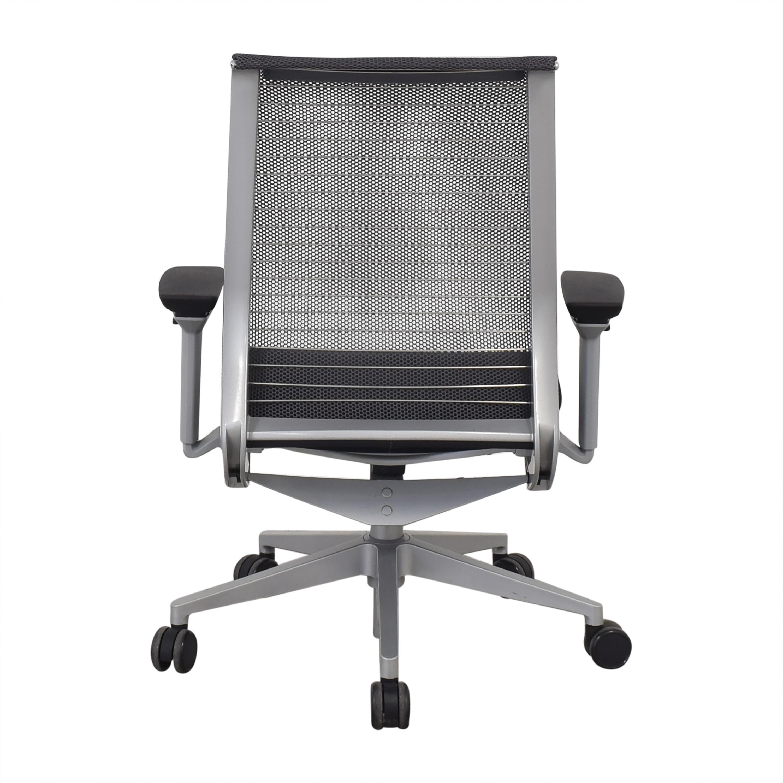 Steelcase Steelcase Cobi Swivel Chair black & silver