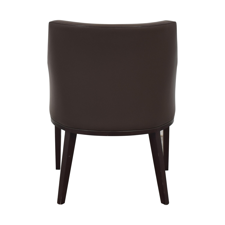 Bright Bright Eno High Back Arm Chair brown