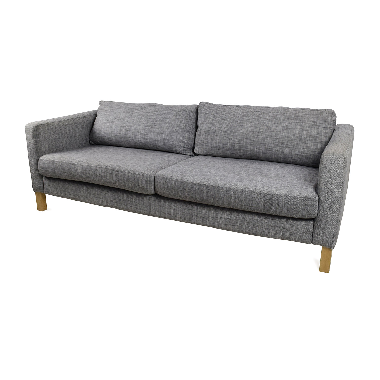 50 off ikea ikea karlstad sofa sofas for Ikea sofa set