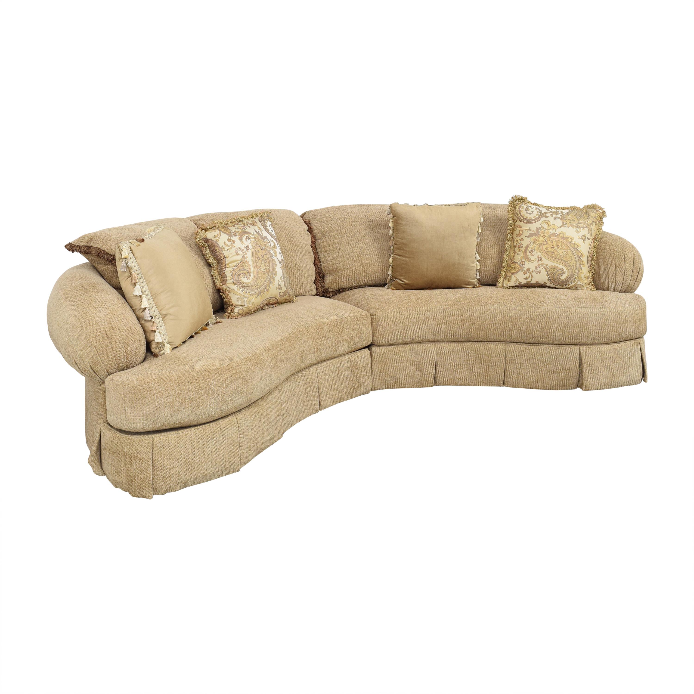 Ferguson Copeland Ferguson Copeland Curved Sectional Sofa