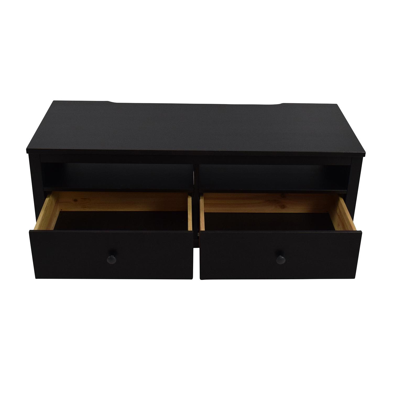 Shop ikea dark brown tv cabinet ikea
