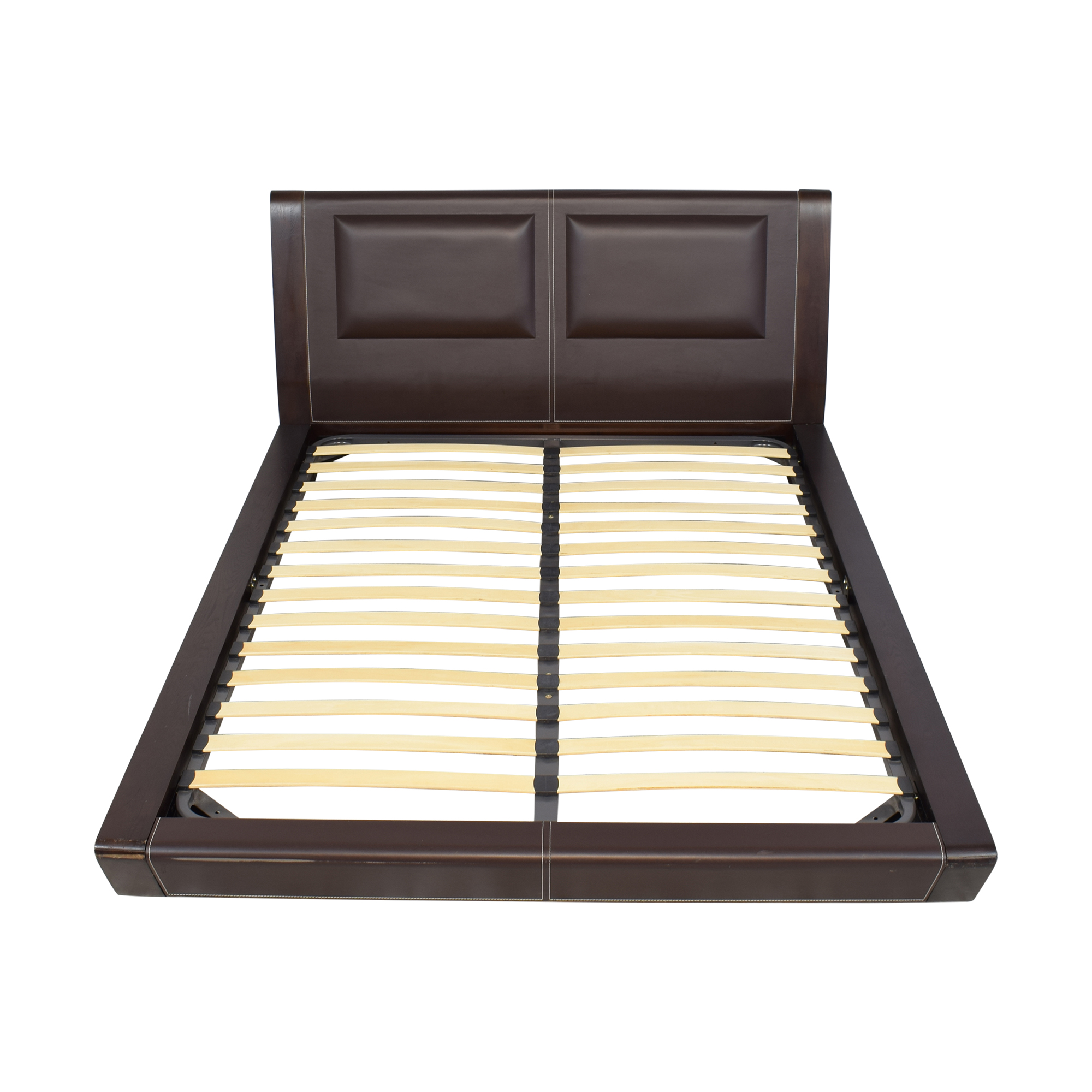 J&M Modern Queen Platform Bed sale