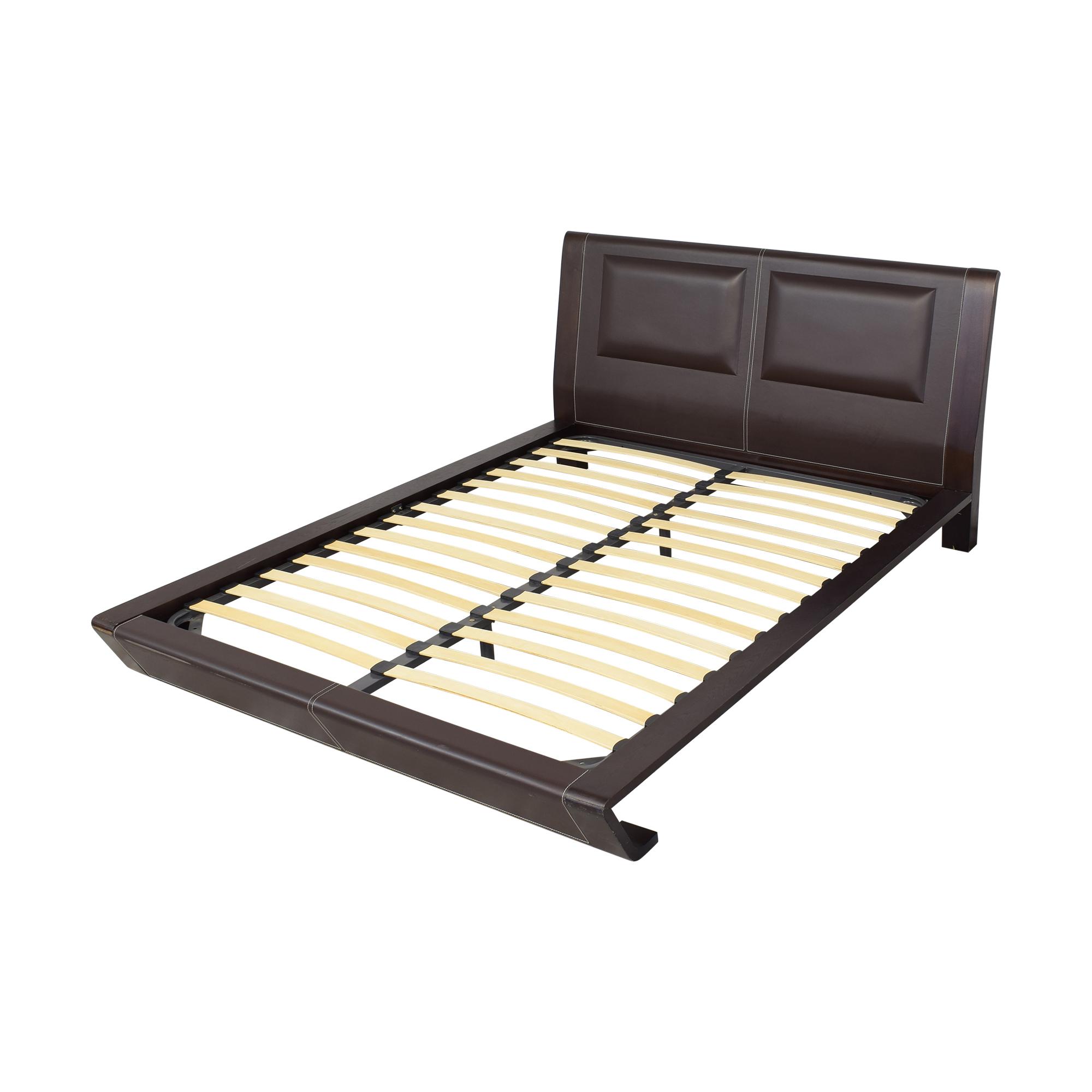 J&M Furniture J&M Modern Queen Platform Bed Beds