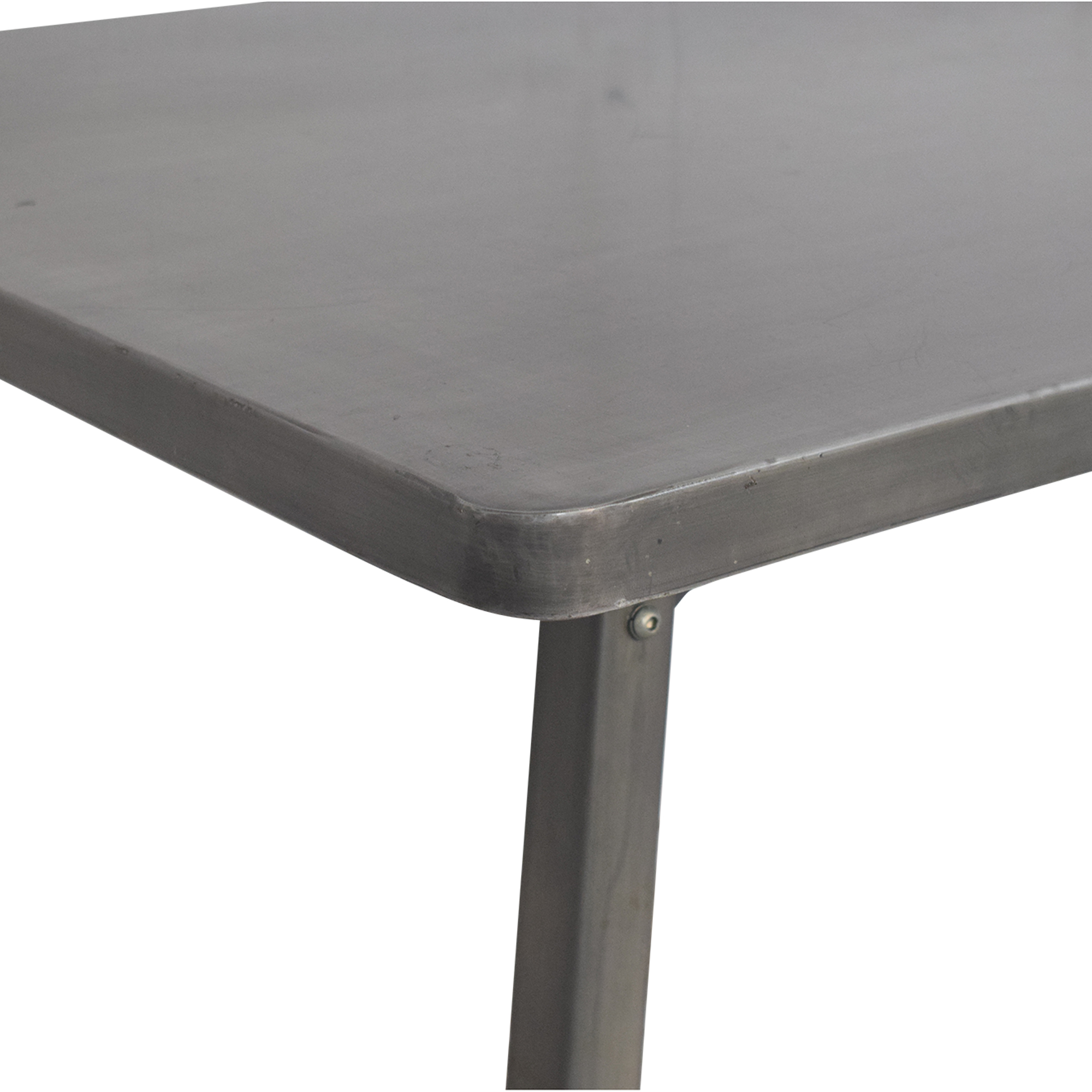 CB2 Draught Dining Table sale