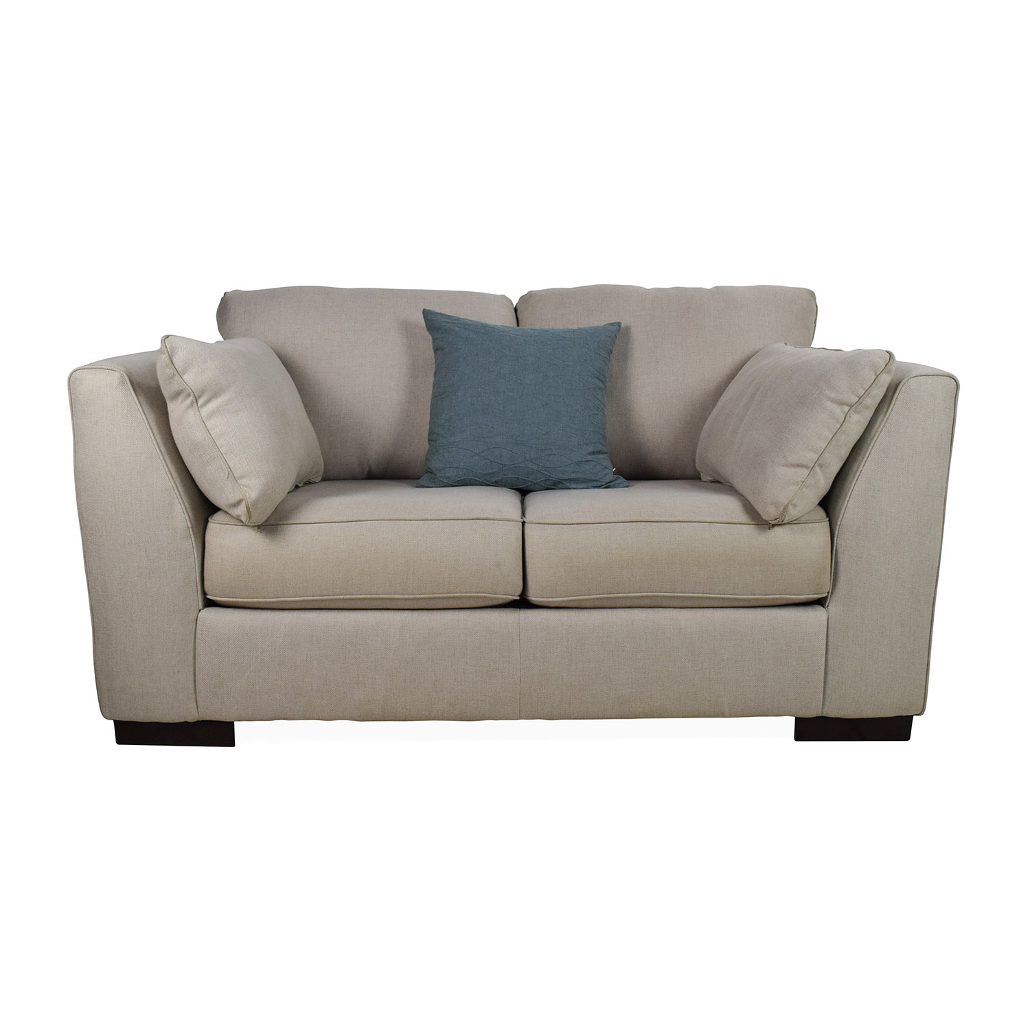 Reclining loveseat ashley furniture gunsmoke alzena power reclining loveseat with console view Ashley couch and loveseat