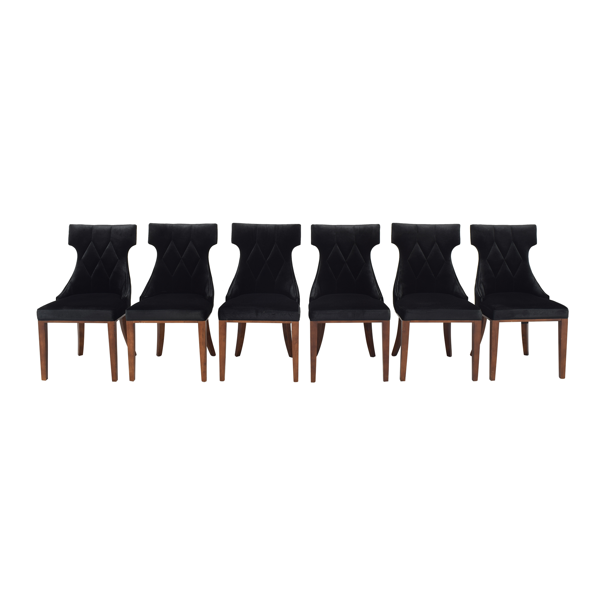 buy Silver Orchid Silver Orchid Fontan Velvet Dining Chairs online