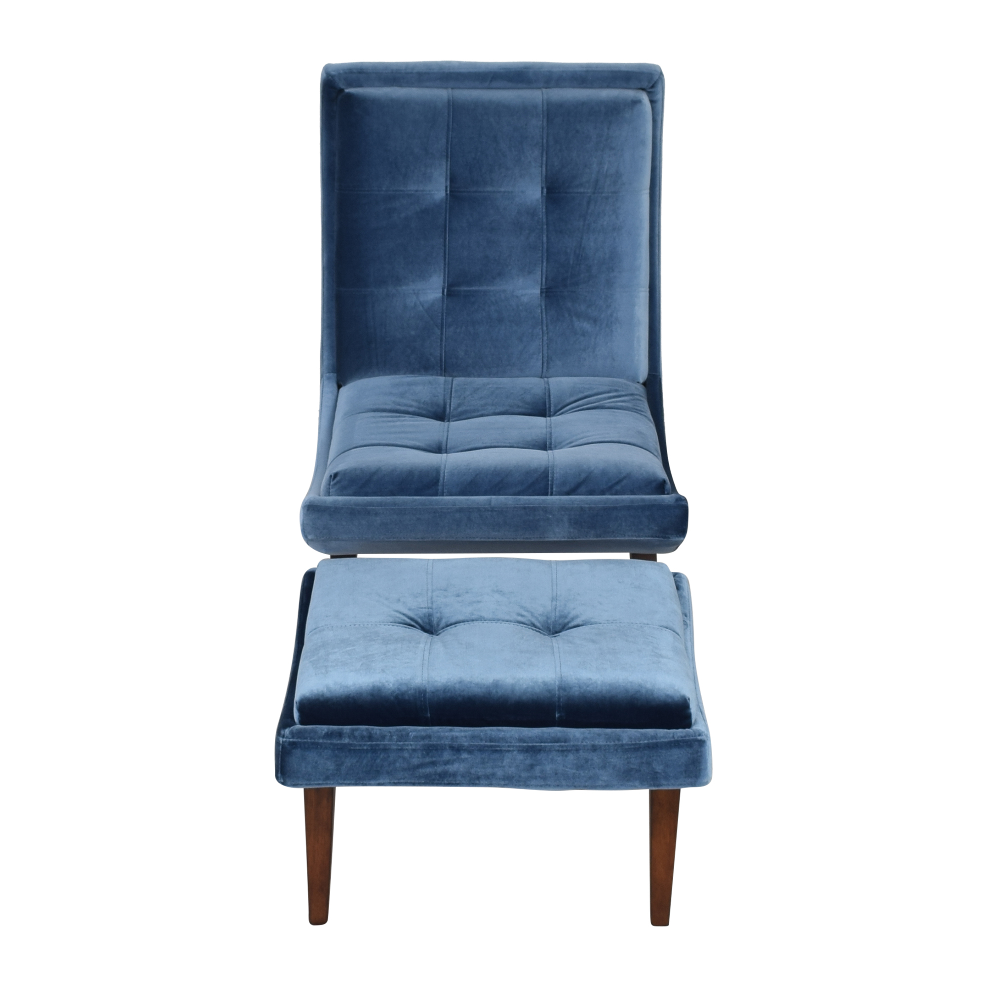Modway Modway Lounge Chair and Ottoman second hand