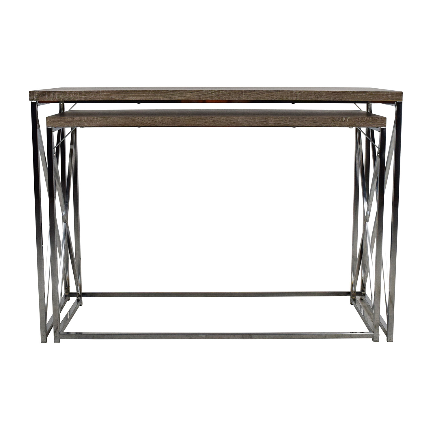Monarch Monarch 2-Piece Console Tables second hand