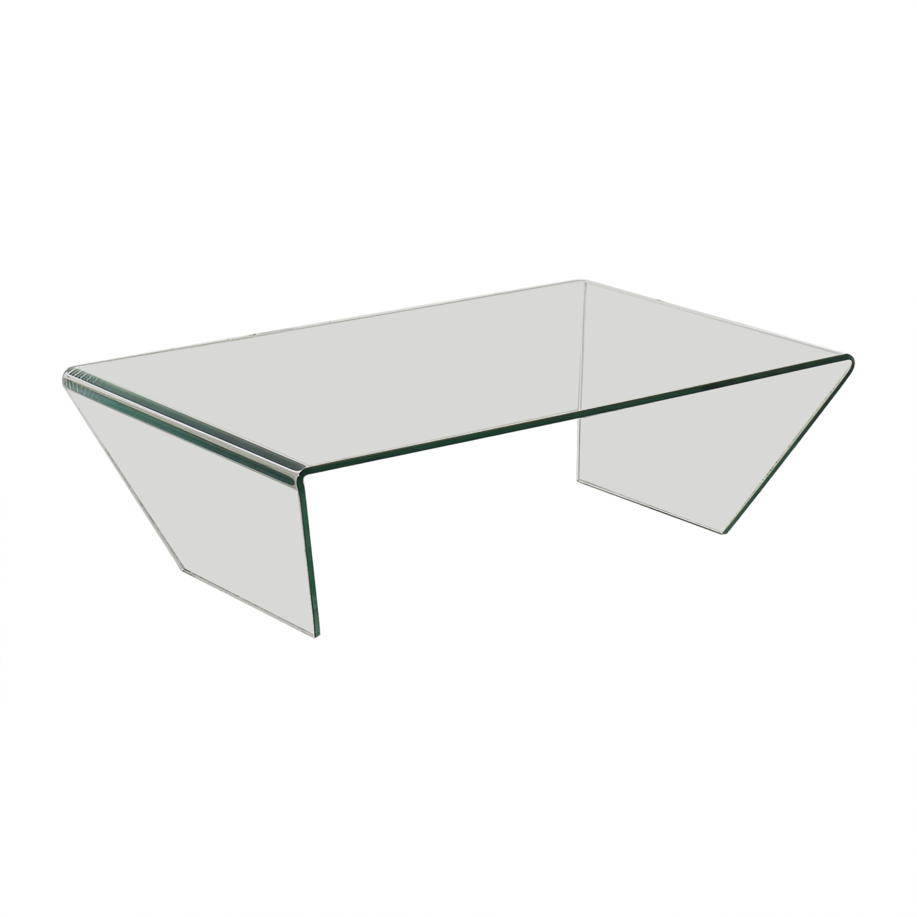 shop Angled Coffee Glass Table  Tables