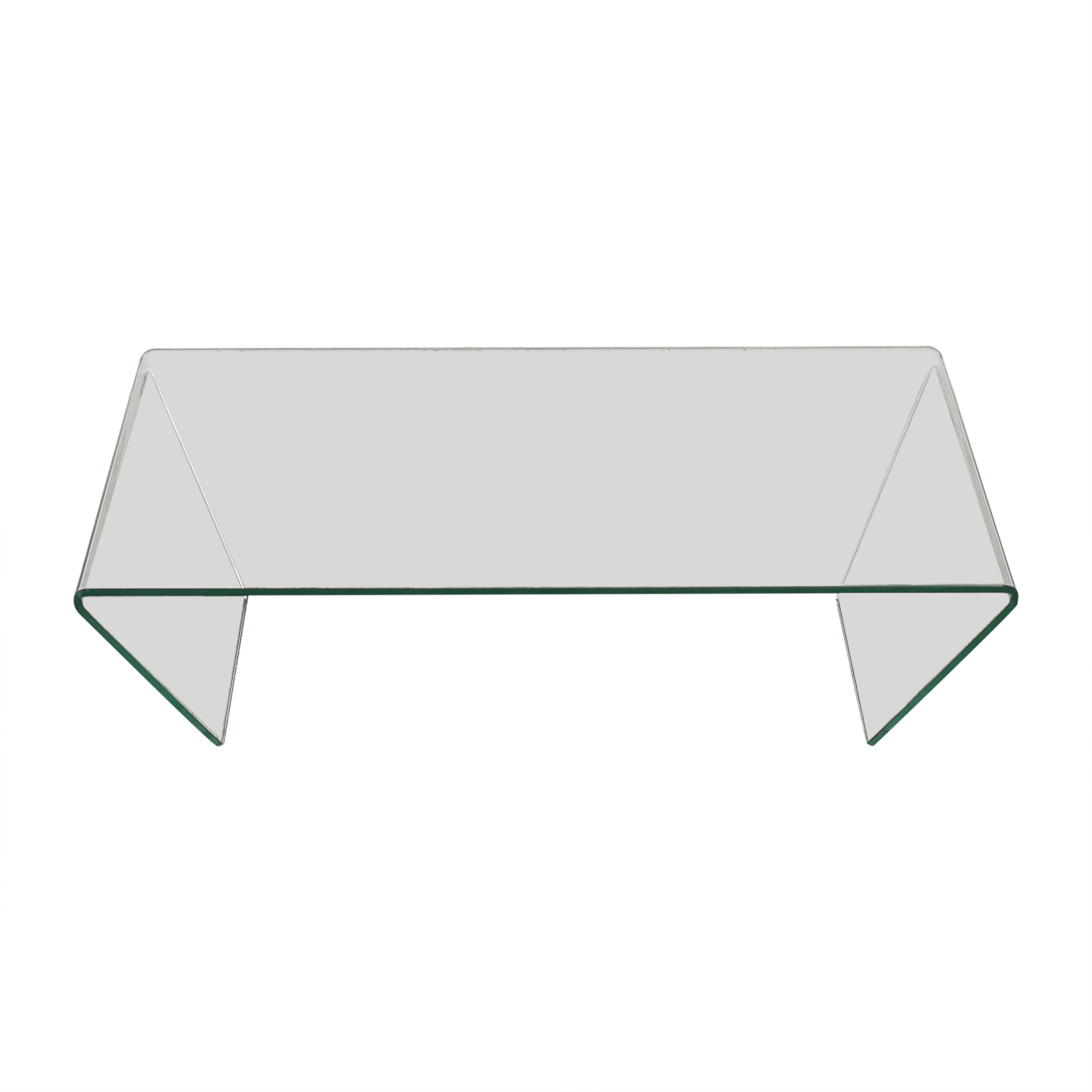 Angled Coffee Glass Table / Tables