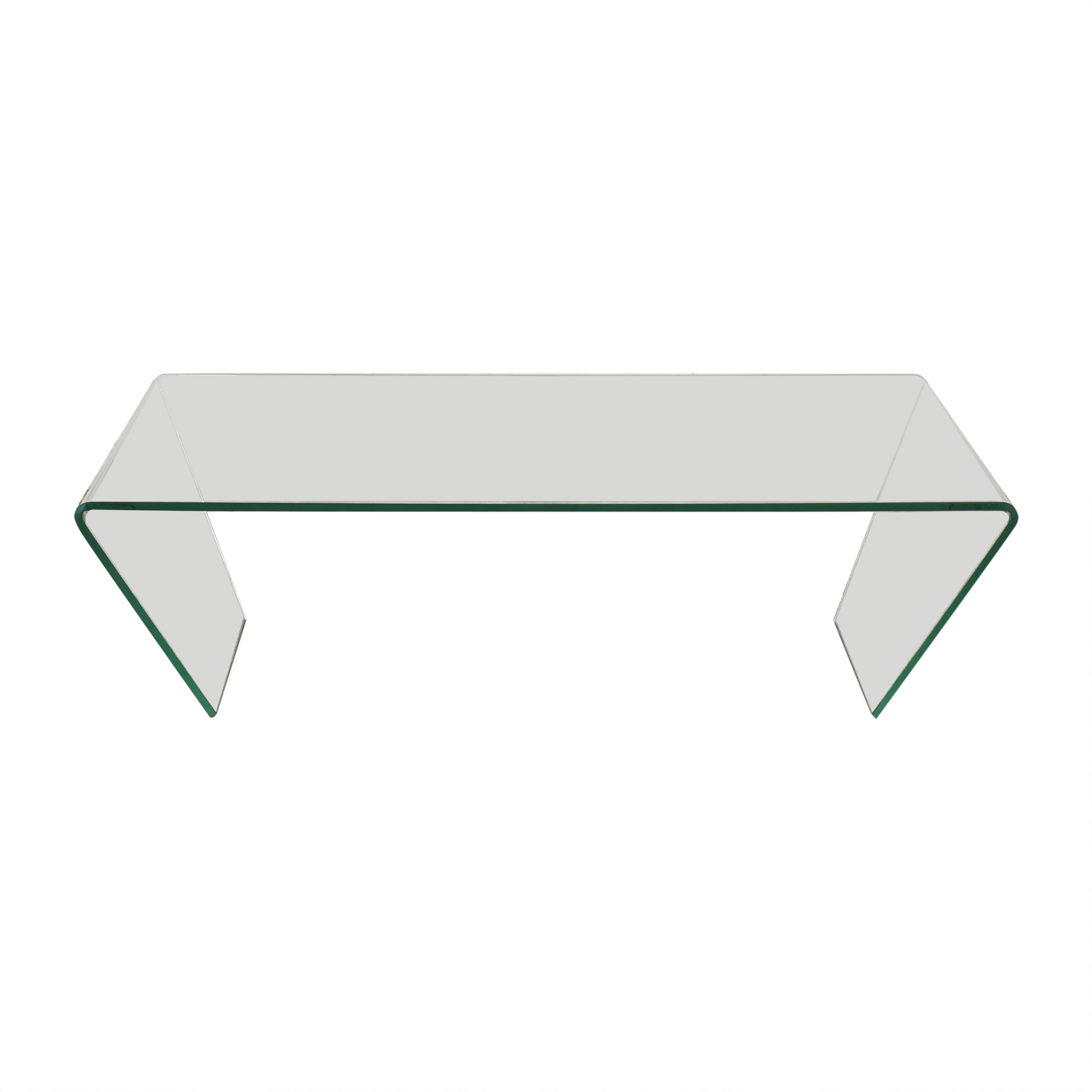 Angled Coffee Glass Table / Coffee Tables