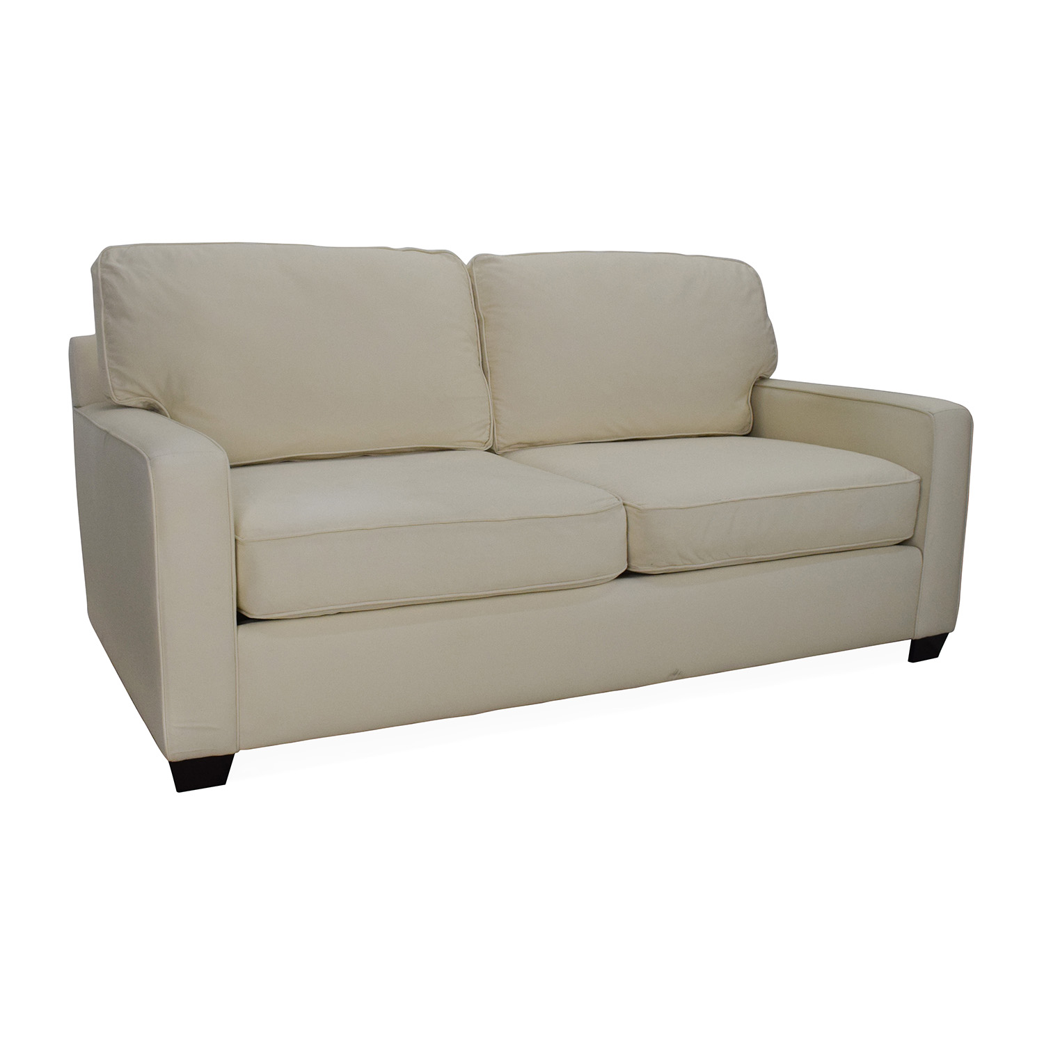 Pottery Barn Buchanan Square Arm Loveseat Price