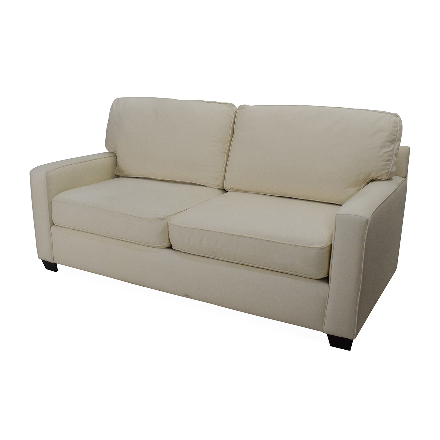 Pottery Barn Buchanan Square Arm Loveseat For