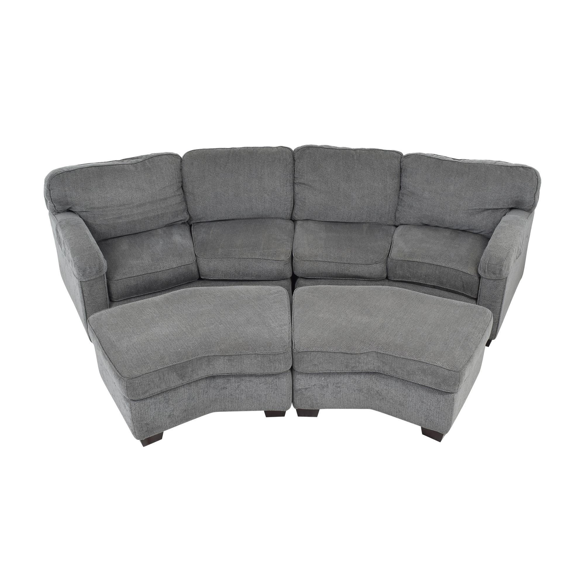 Bassett Furniture Bassett Furniture Sectional Sofa with Ottomans price