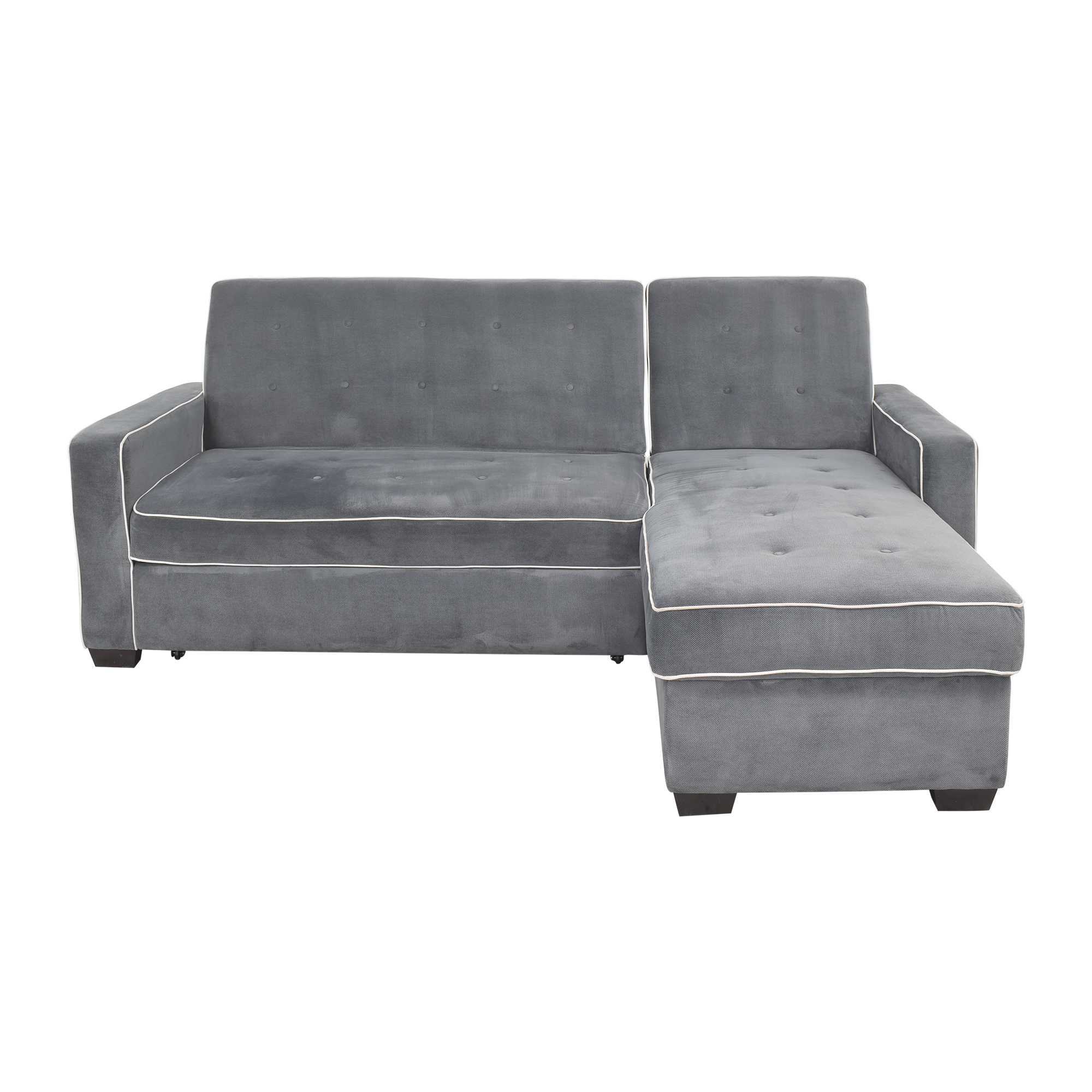 buy Costco Kayden Chaise Sectional Sleeper Sofa Costco Sectionals