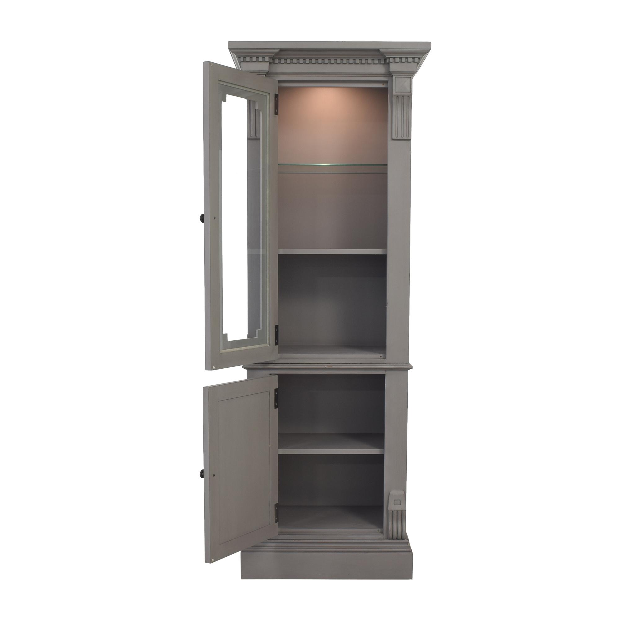 buy Restoration Hardware Restoration Hardware St. James Tall Bath Cabinet online