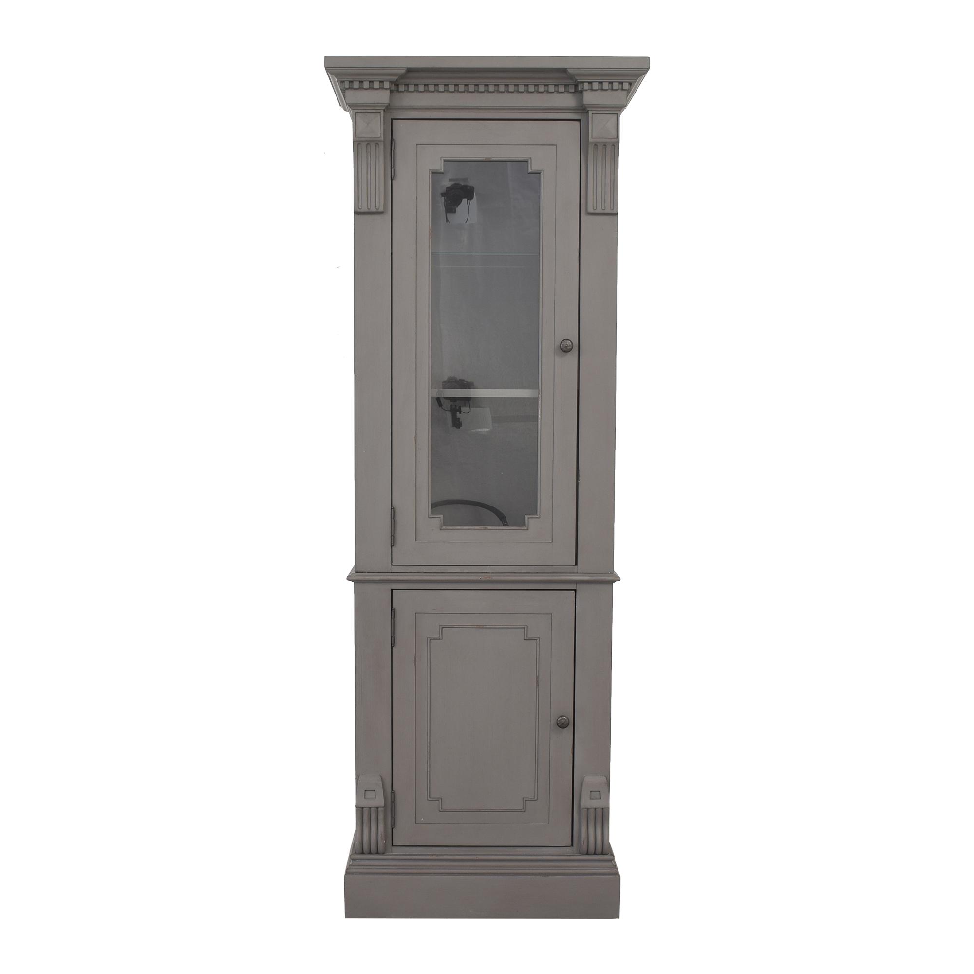 Restoration Hardware St. James Tall Bath Cabinet / Storage