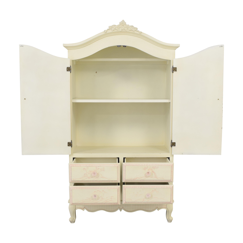 shop Toile Style Armoire  Wardrobes & Armoires