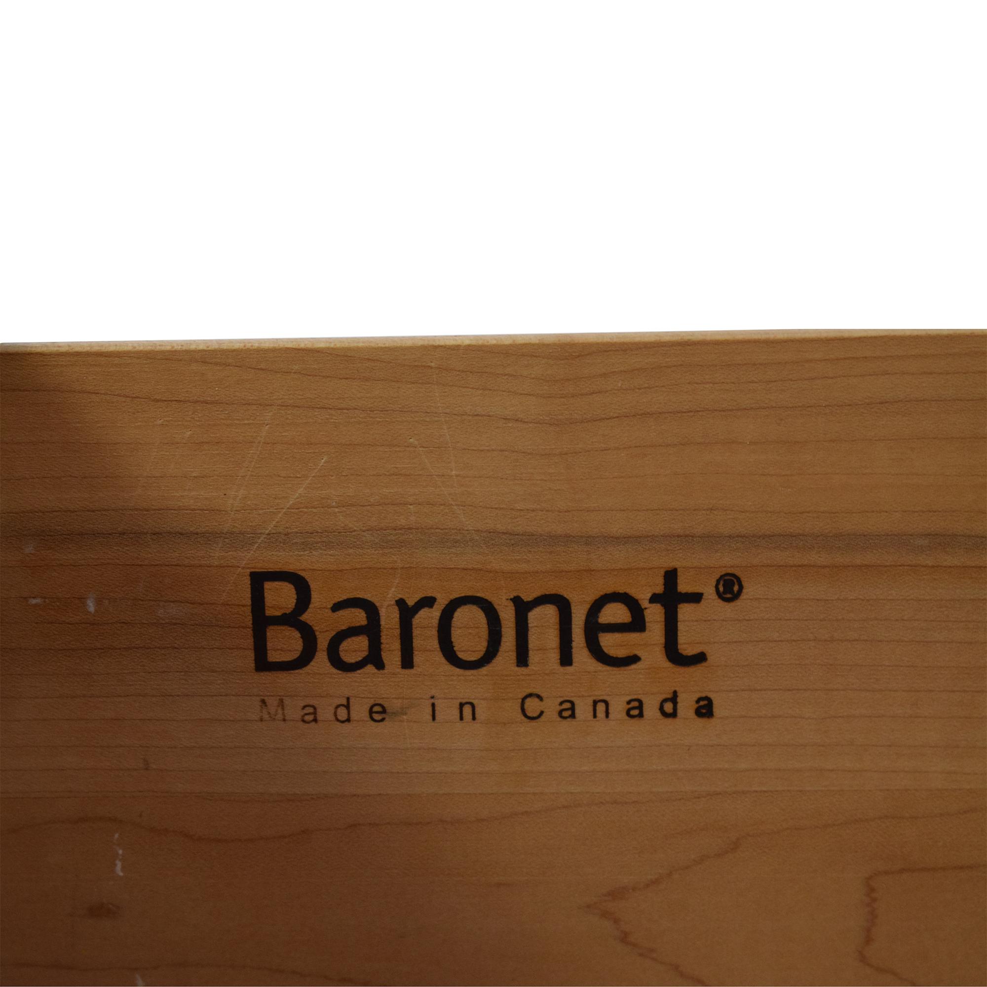 buy Baronet Two Drawer Nightstand Baronet