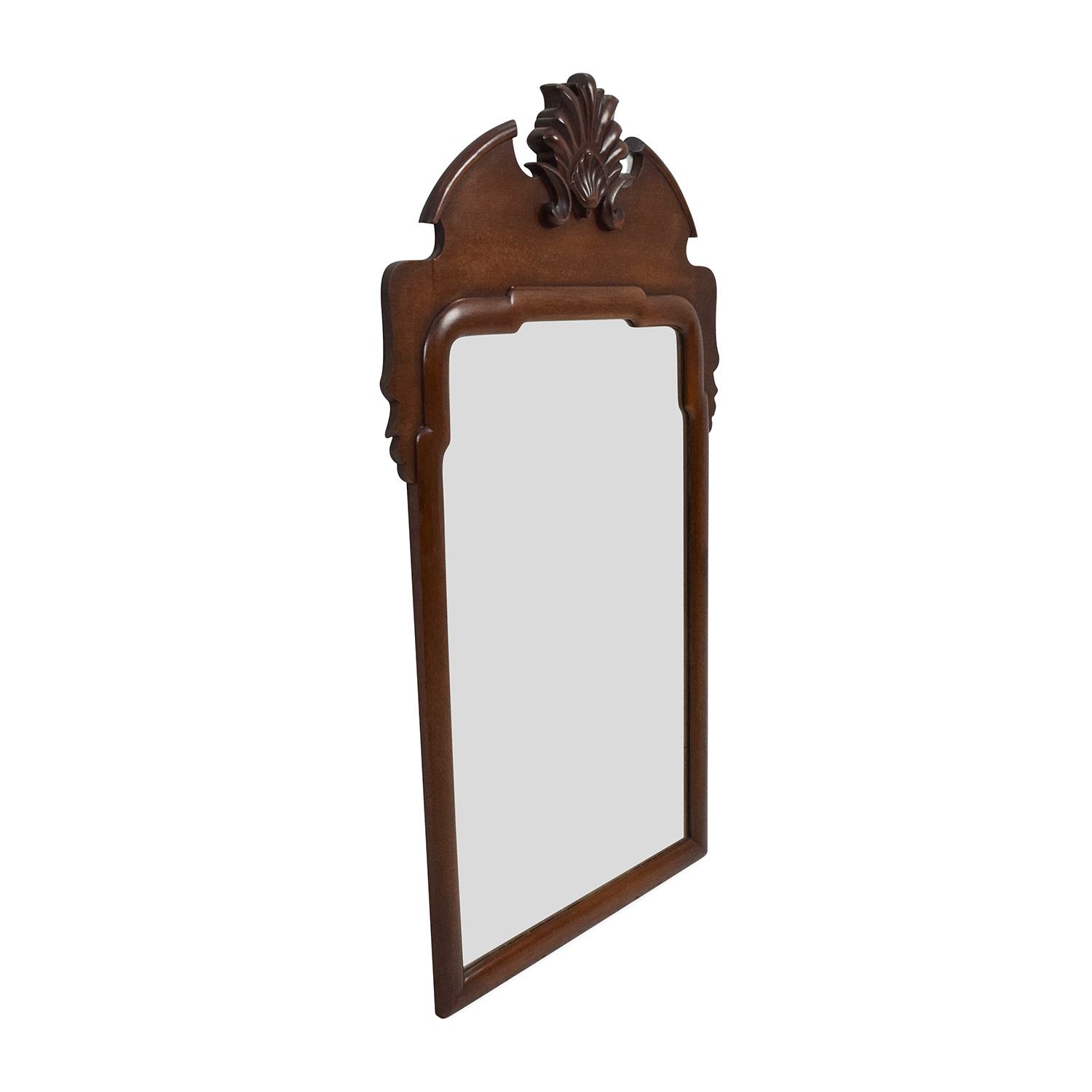 69 Off Unknown Brand Antique Wood Frame Mirror Decor