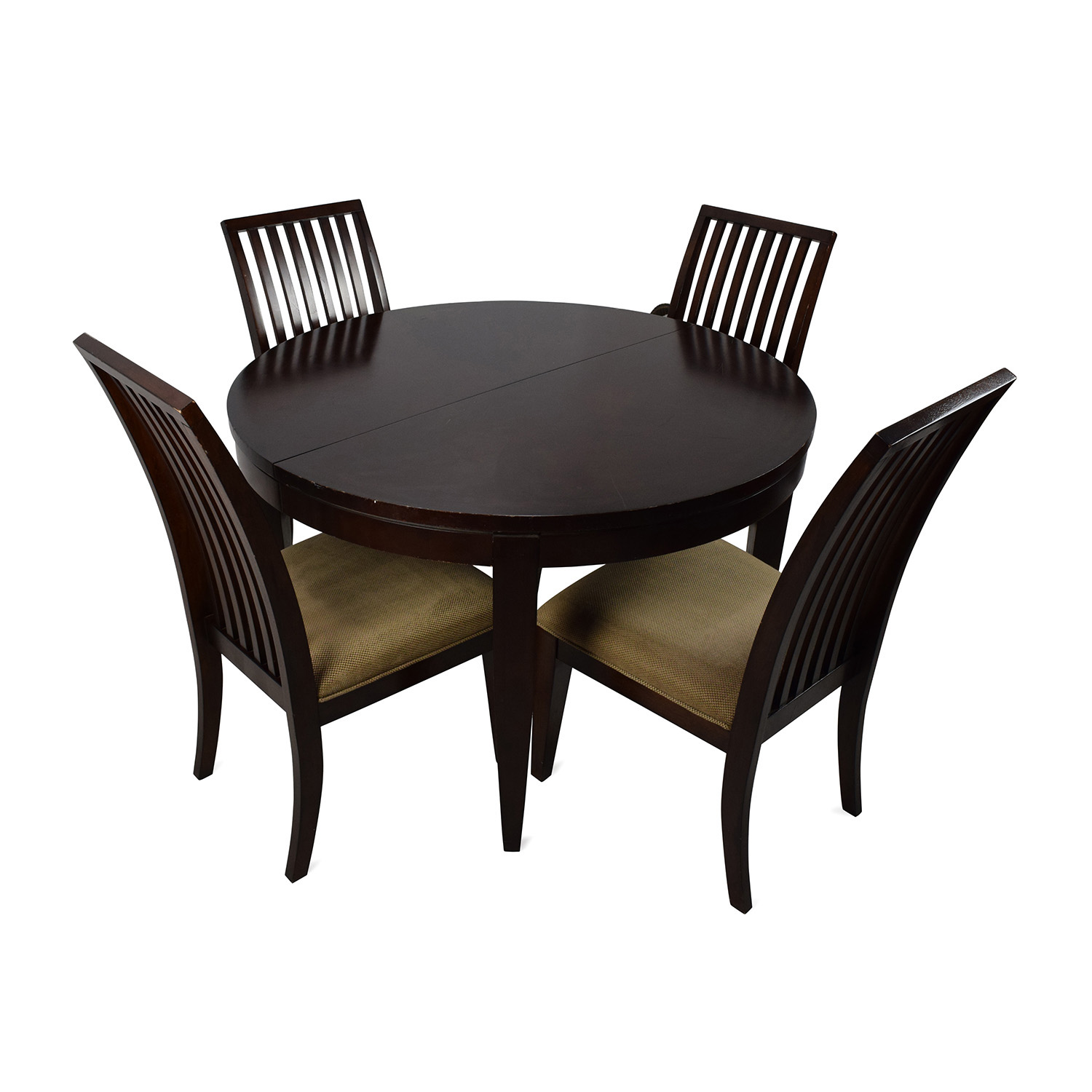 buy Macys Macys Bradford Extendable Dining Table with 4 Chairs online