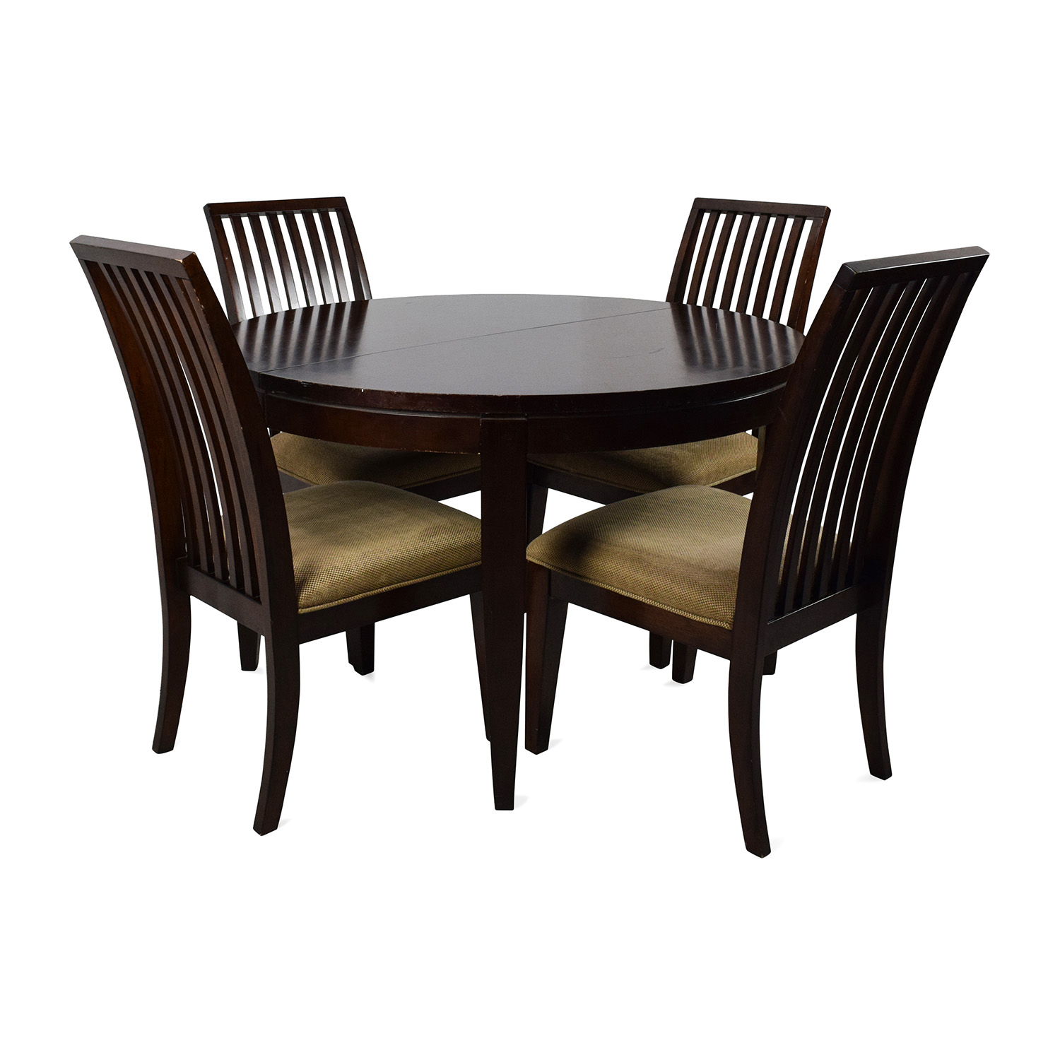 shop Macys Macys Bradford Extendable Dining Table with 4 Chairs online