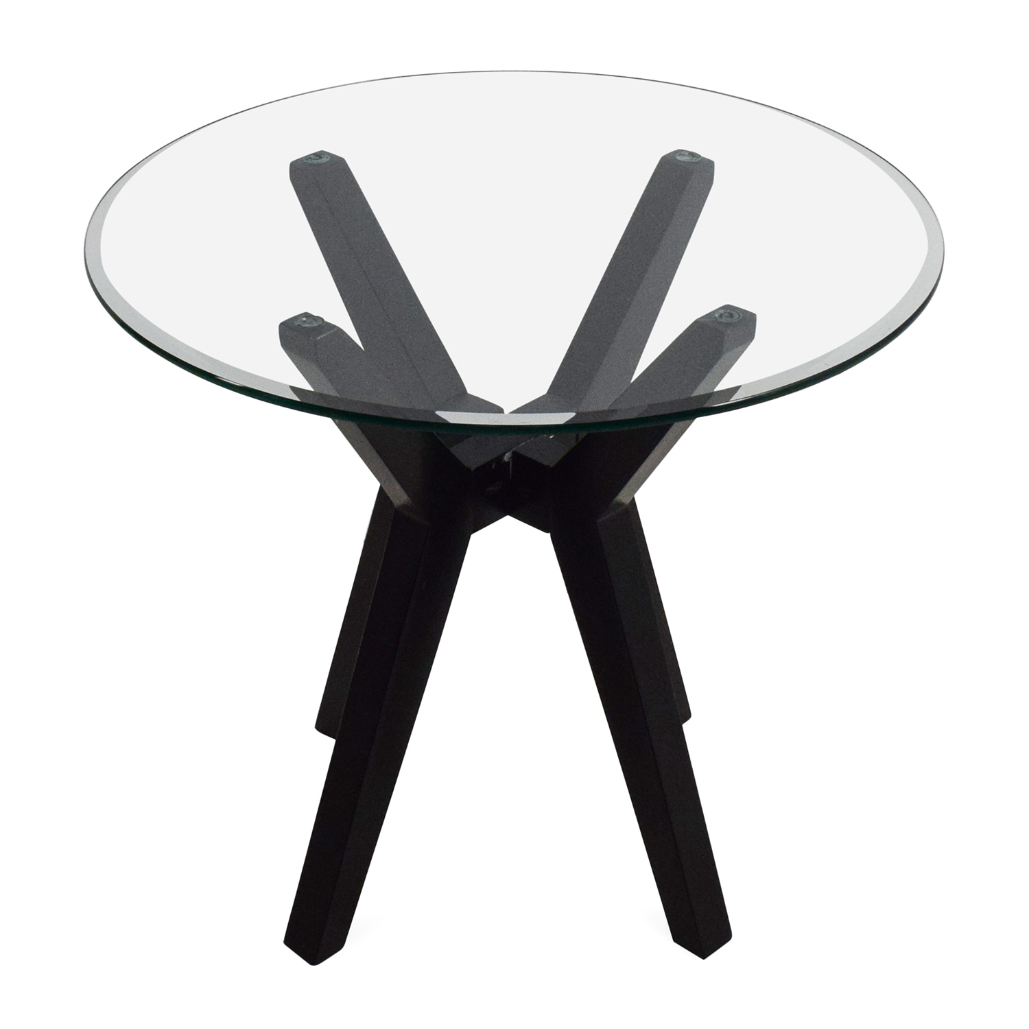 Macys Macys Glass Top End Table price