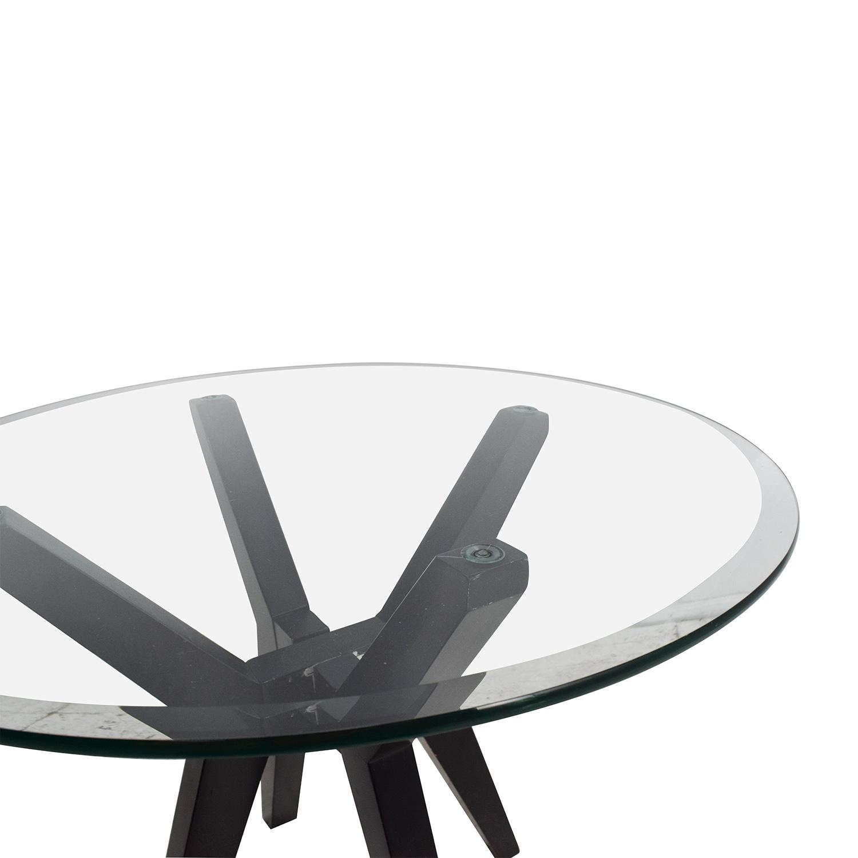 ... Macyu0027s Macyu0027s Glass Top End Table ...