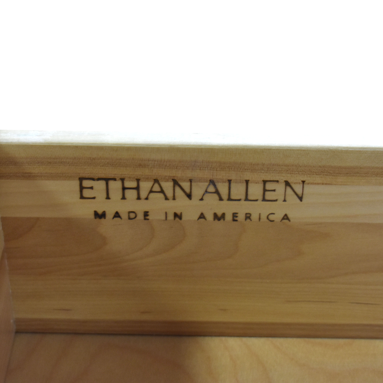 Ethan Allen Ethan Allen Distressed Armoire white