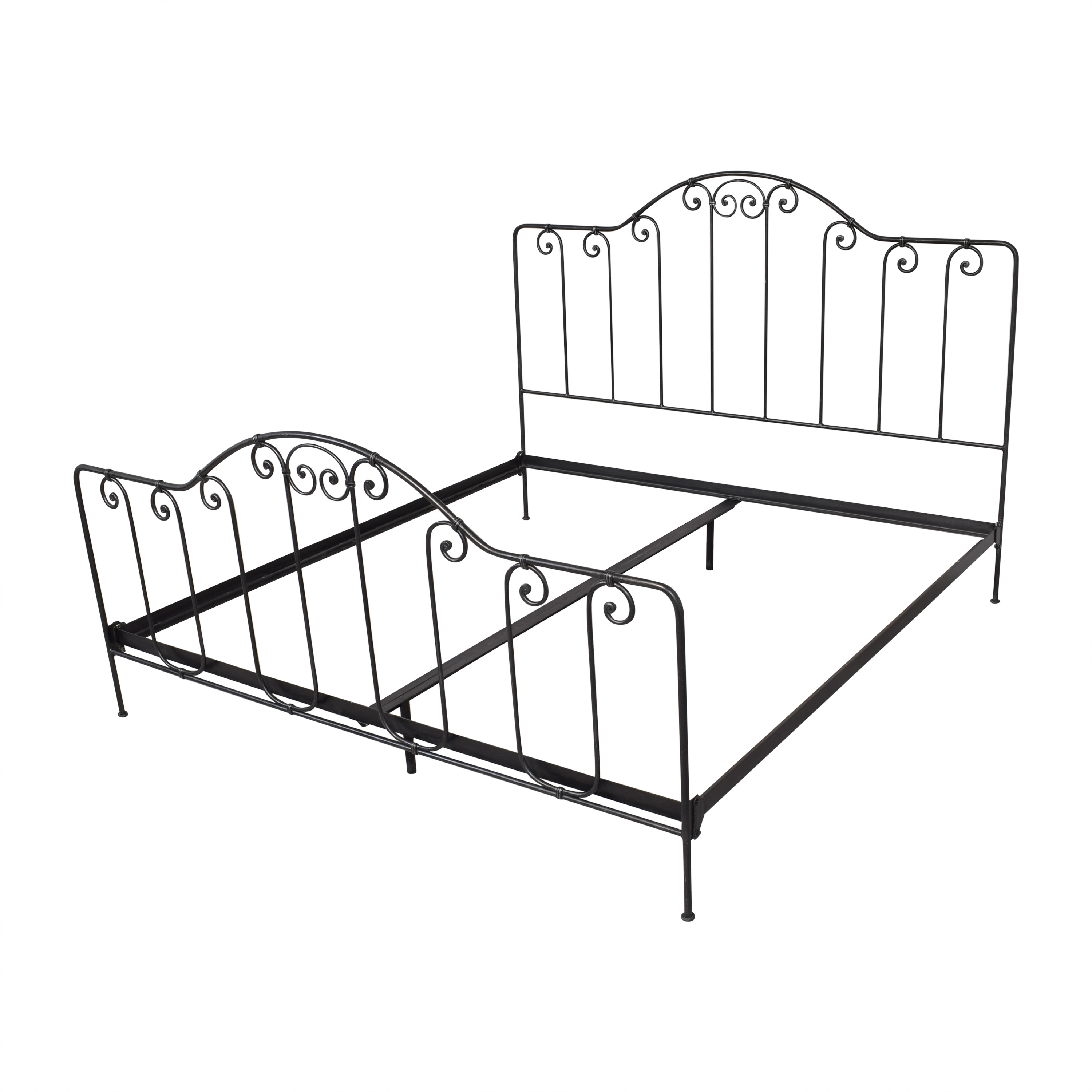 Charles P. Rogers Charles P Rogers Breton King Bed Bed Frames