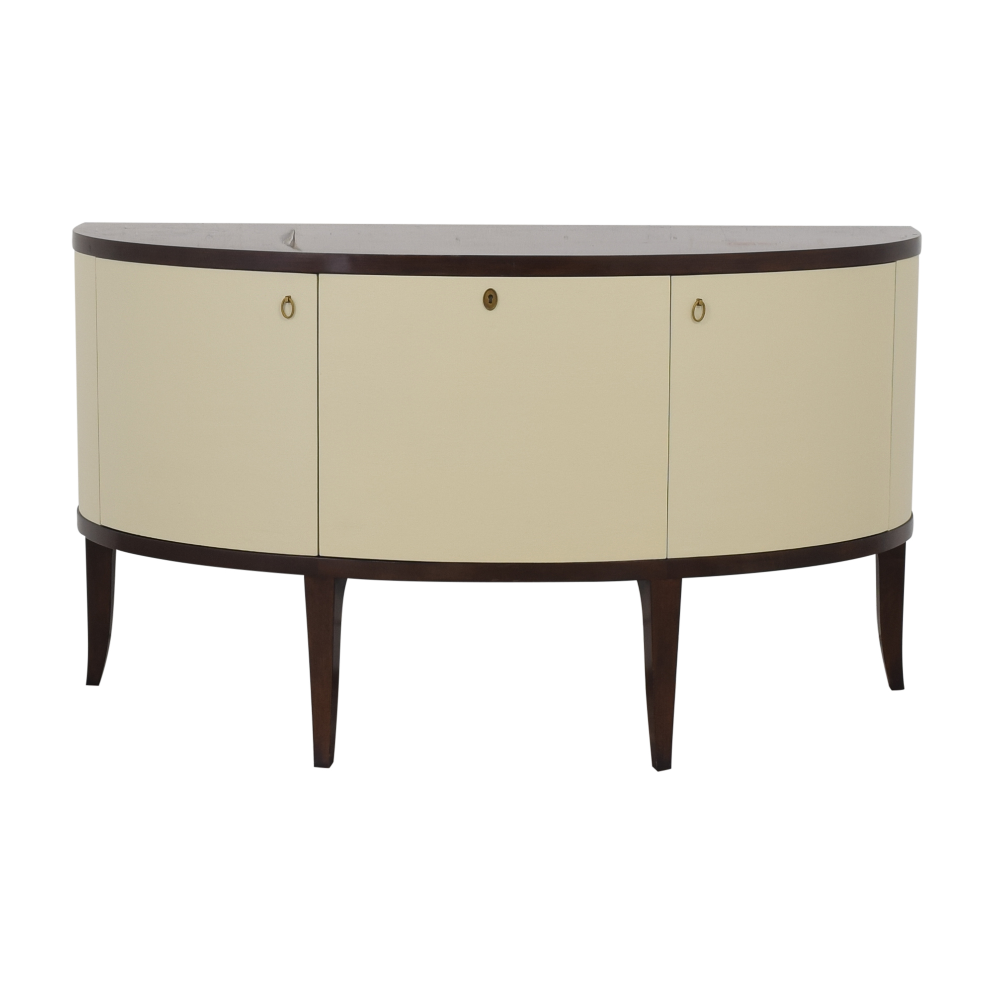 Henredon Furniture Barbara Barry for Henredon Demilune Console Table dimensions