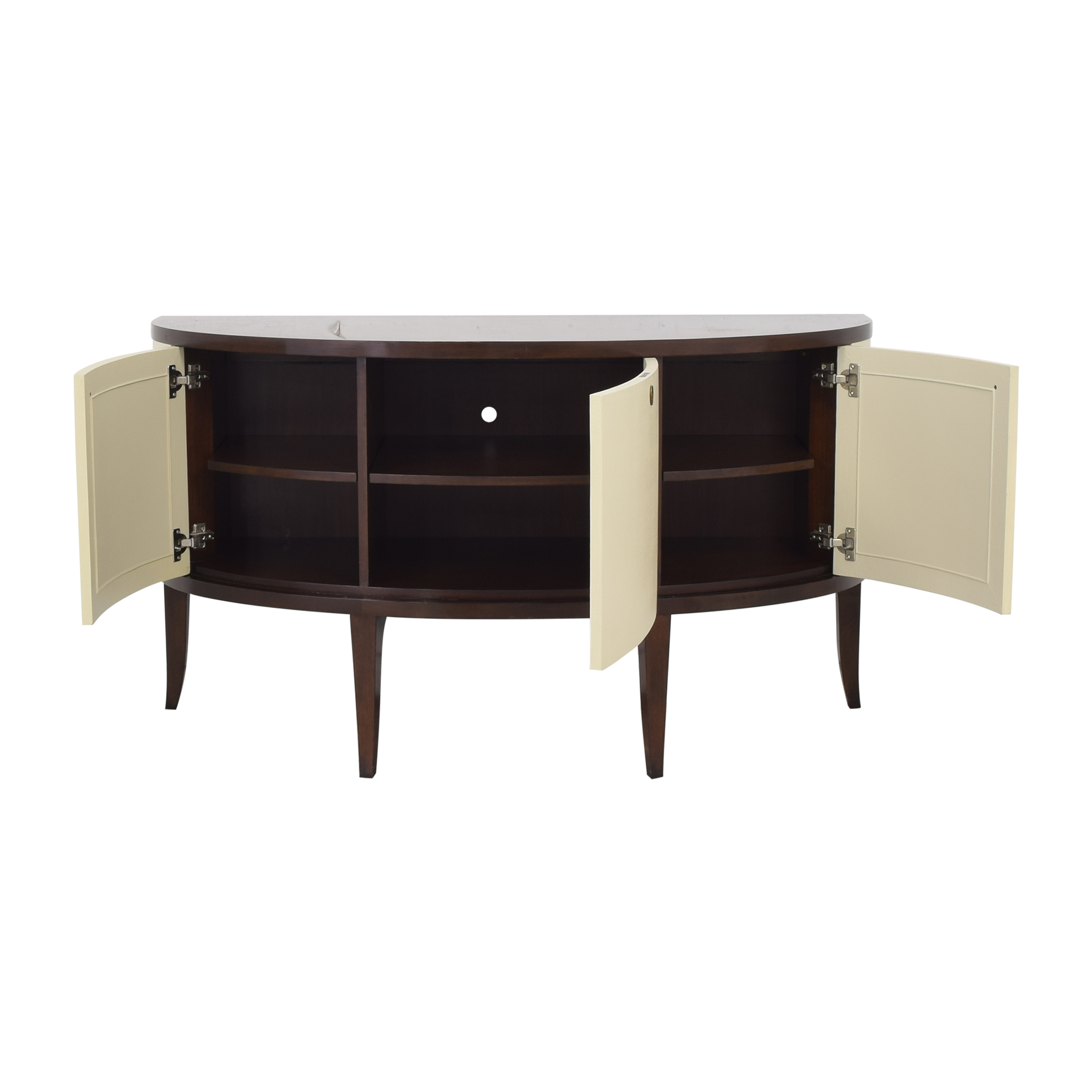 Barbara Barry for Henredon Demilune Console Table / Tables