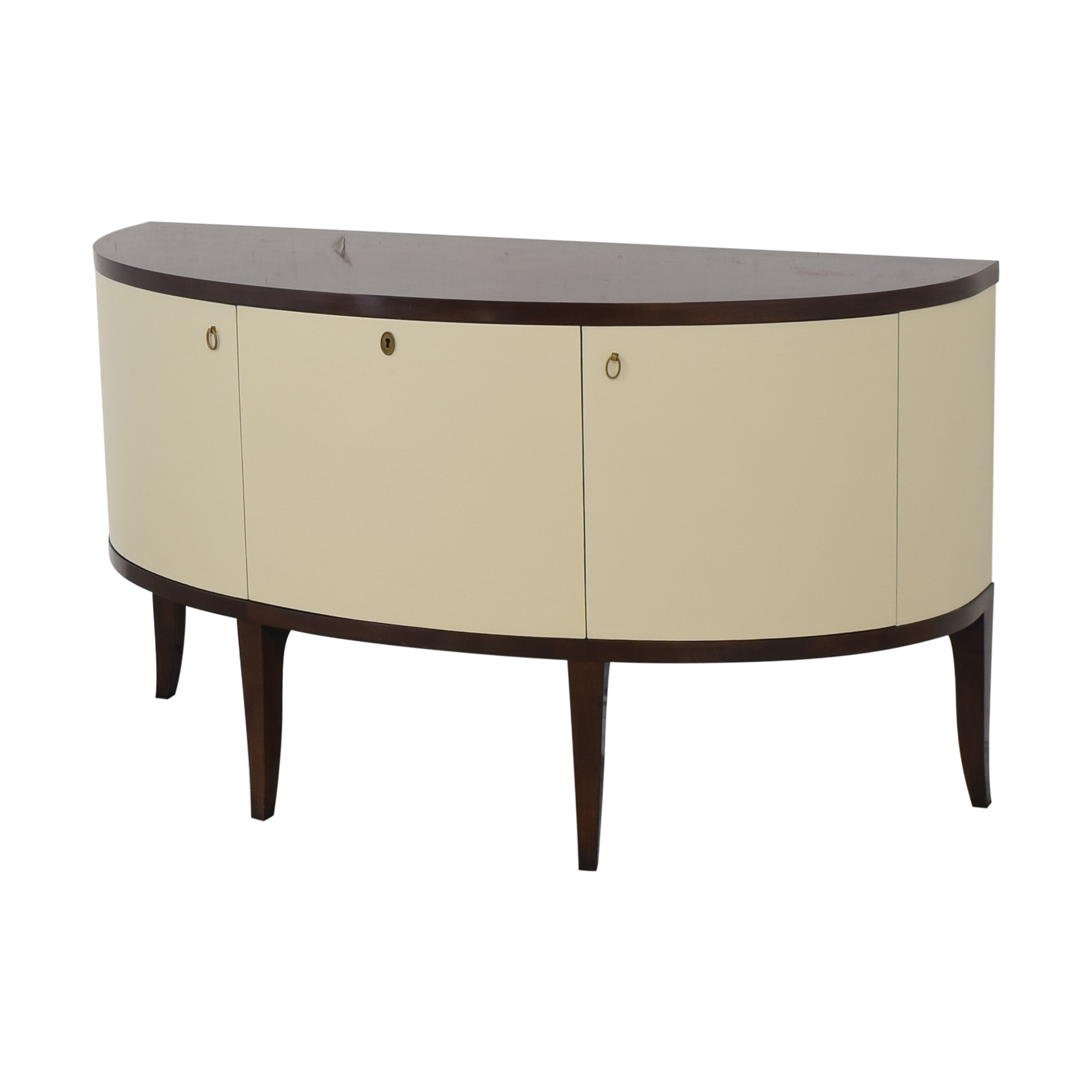 buy Barbara Barry for Henredon Demilune Console Table Henredon Furniture Tables