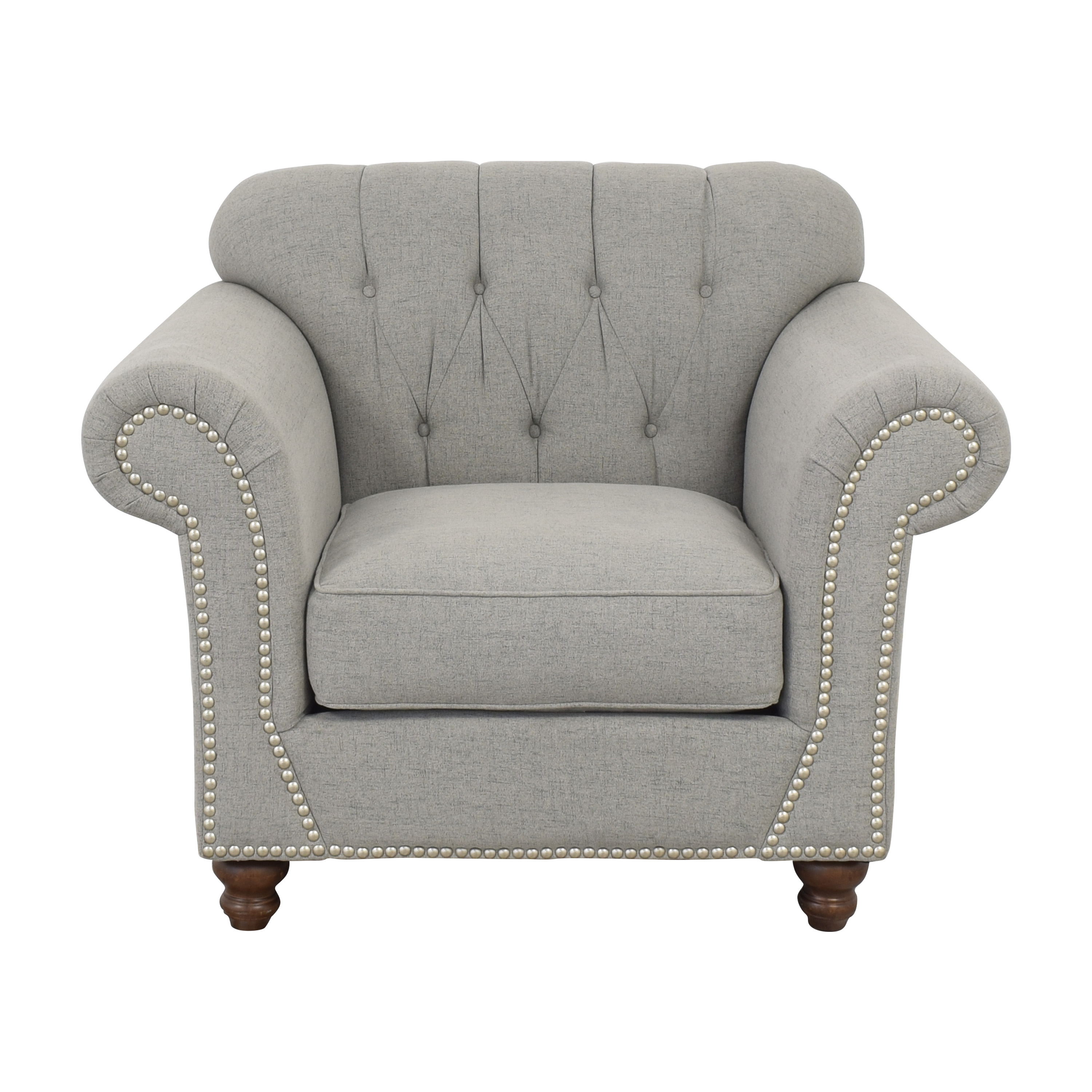 buy Klaussner Distinctions Nailhead Accent Chair Klaussner