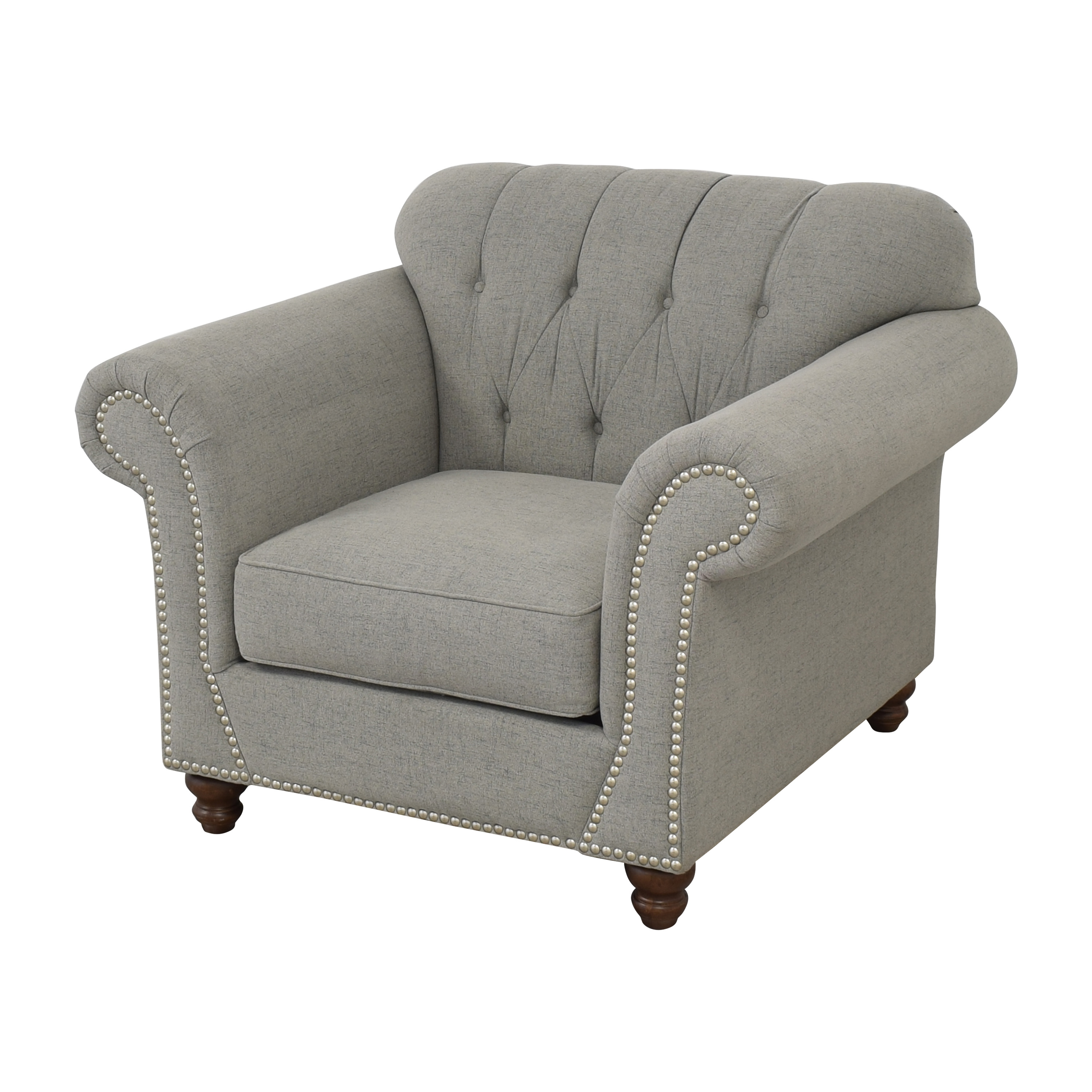 Klaussner Distinctions Nailhead Accent Chair / Accent Chairs