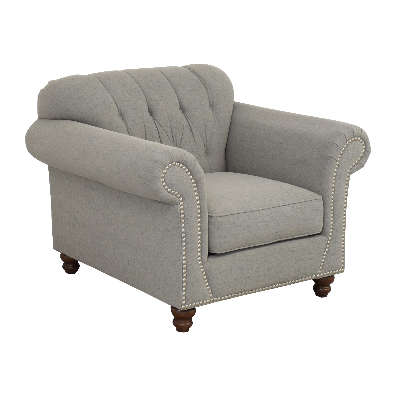 shop Klaussner Distinctions Nailhead Accent Chair Klaussner