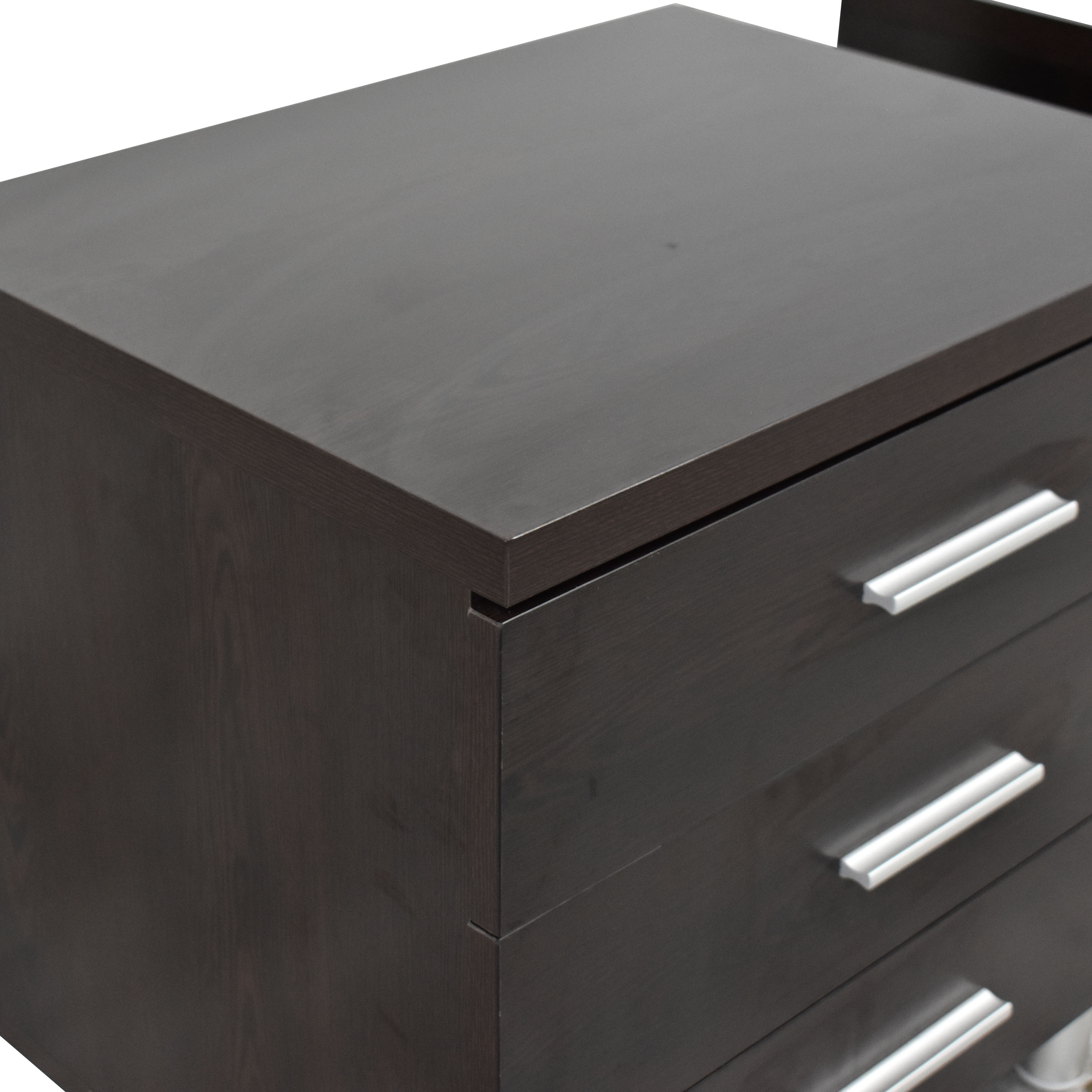 shop Contemporary Three Drawer Nightstands  End Tables