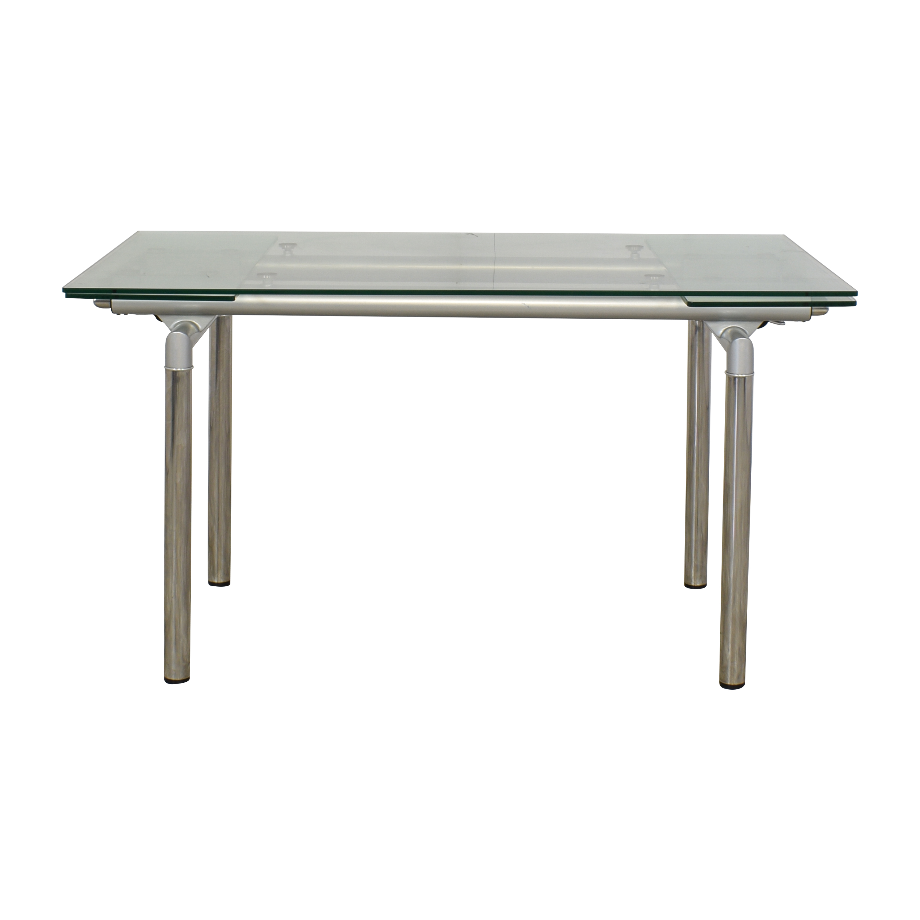 Modern Style Extendable Dining Table for sale