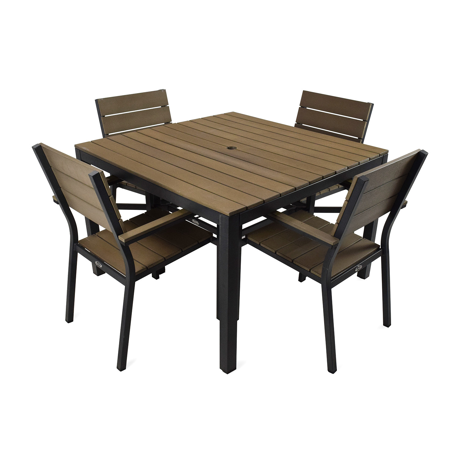 Home Depot Hampton Bay Northridge 5 Piece Patio Dining Set Coupon