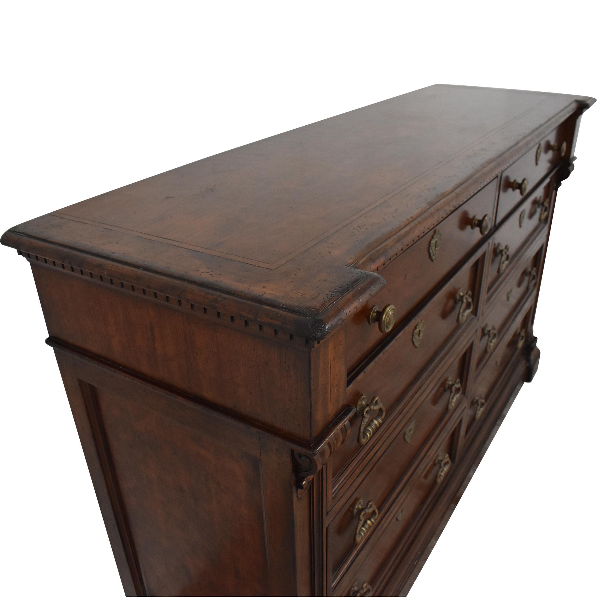 Henredon Furniture Henredon Eight Drawer Double Dresser nj