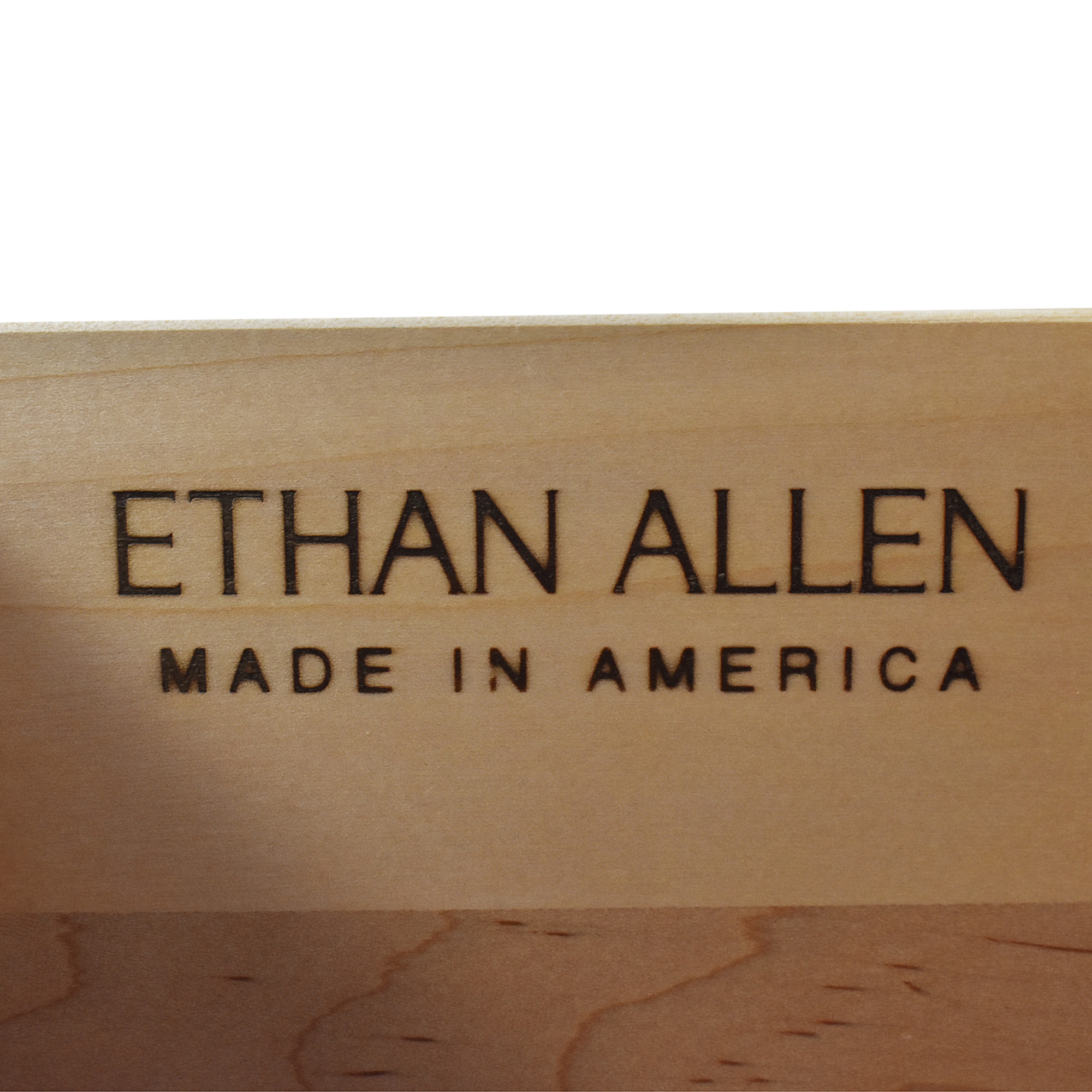 Ethan Allen Ethan Allen Media Cabinet used
