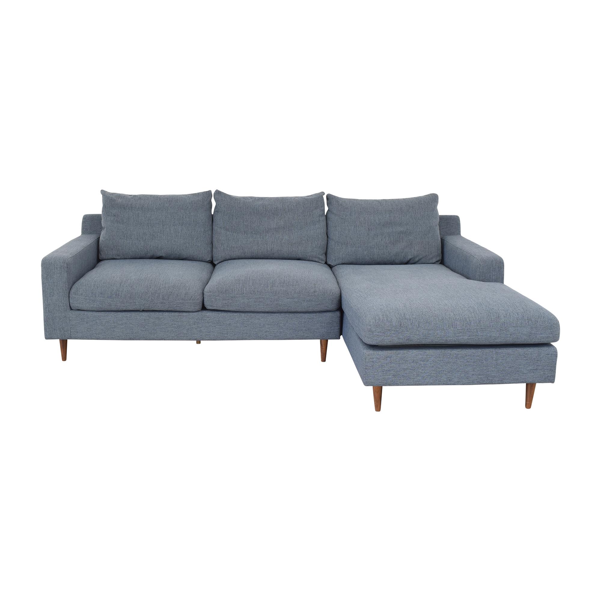 Interior Define Interior Define Sloane Right Chaise Sectional Sofa