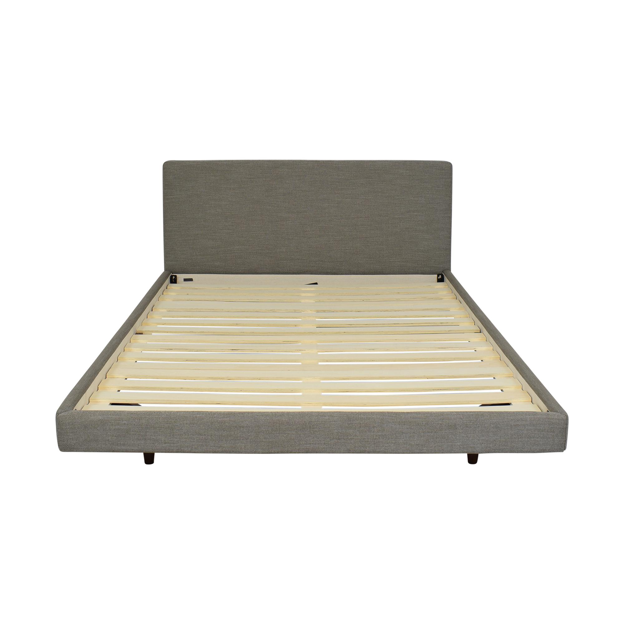 buy Article Article Tessu Glaze Gray Queen Bed online