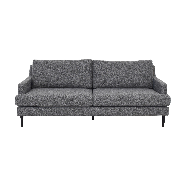 Modern Two Cushion Sofa nj
