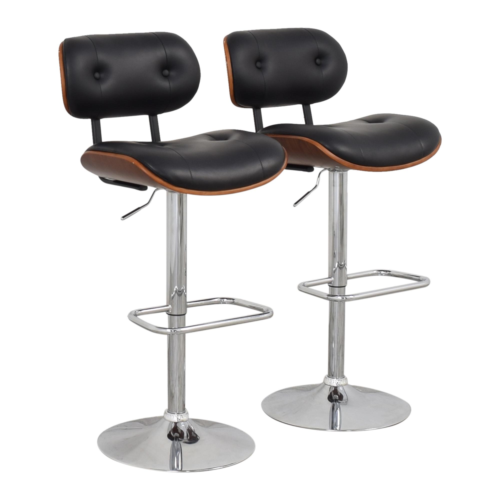 shop Wade Logan Catina Swivel Bar Stools Wayfair Chairs