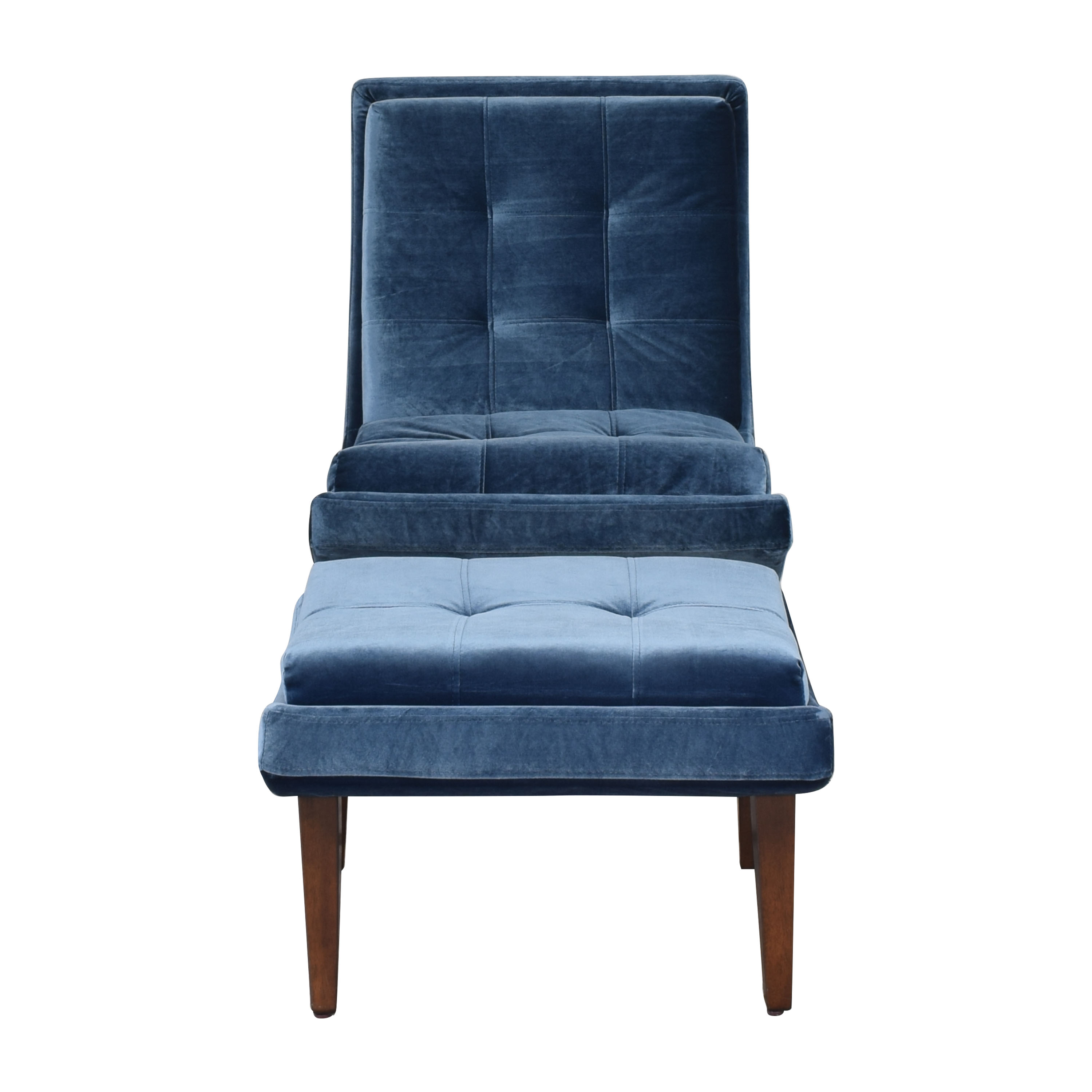 Modway Lounge Chair and Ottoman sale