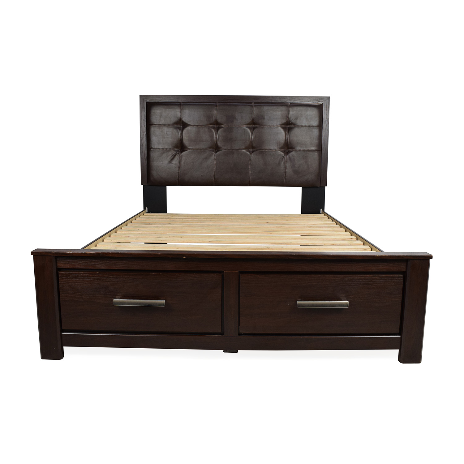 queen storage bed ashley furniture
