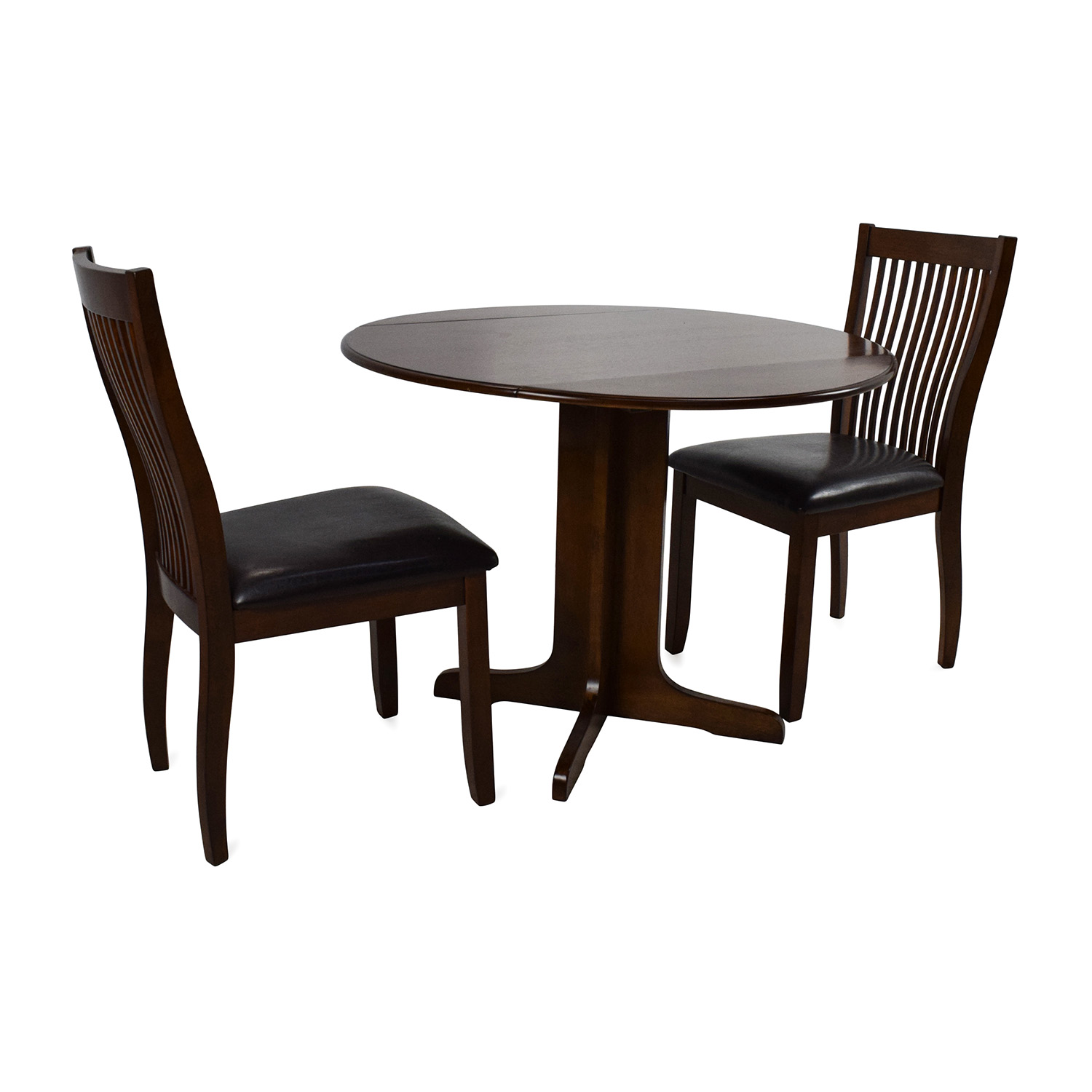 buy Ashley Furniture Compact Dining Set Ashley Furniture Tables