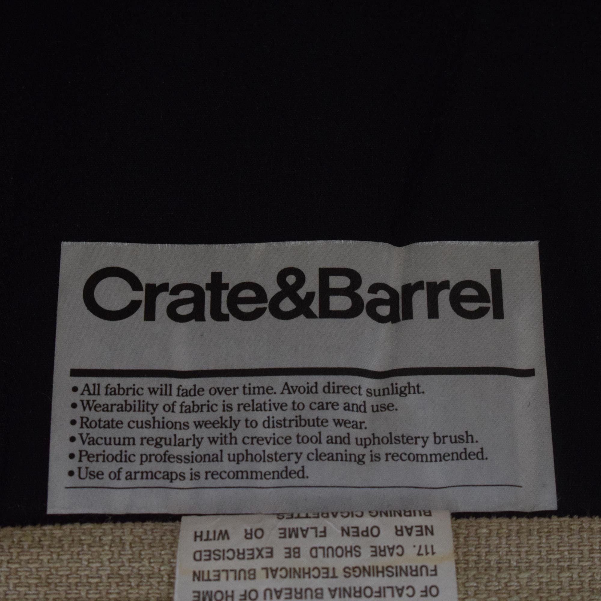 Crate & Barrel Recliner Crate & Barrel